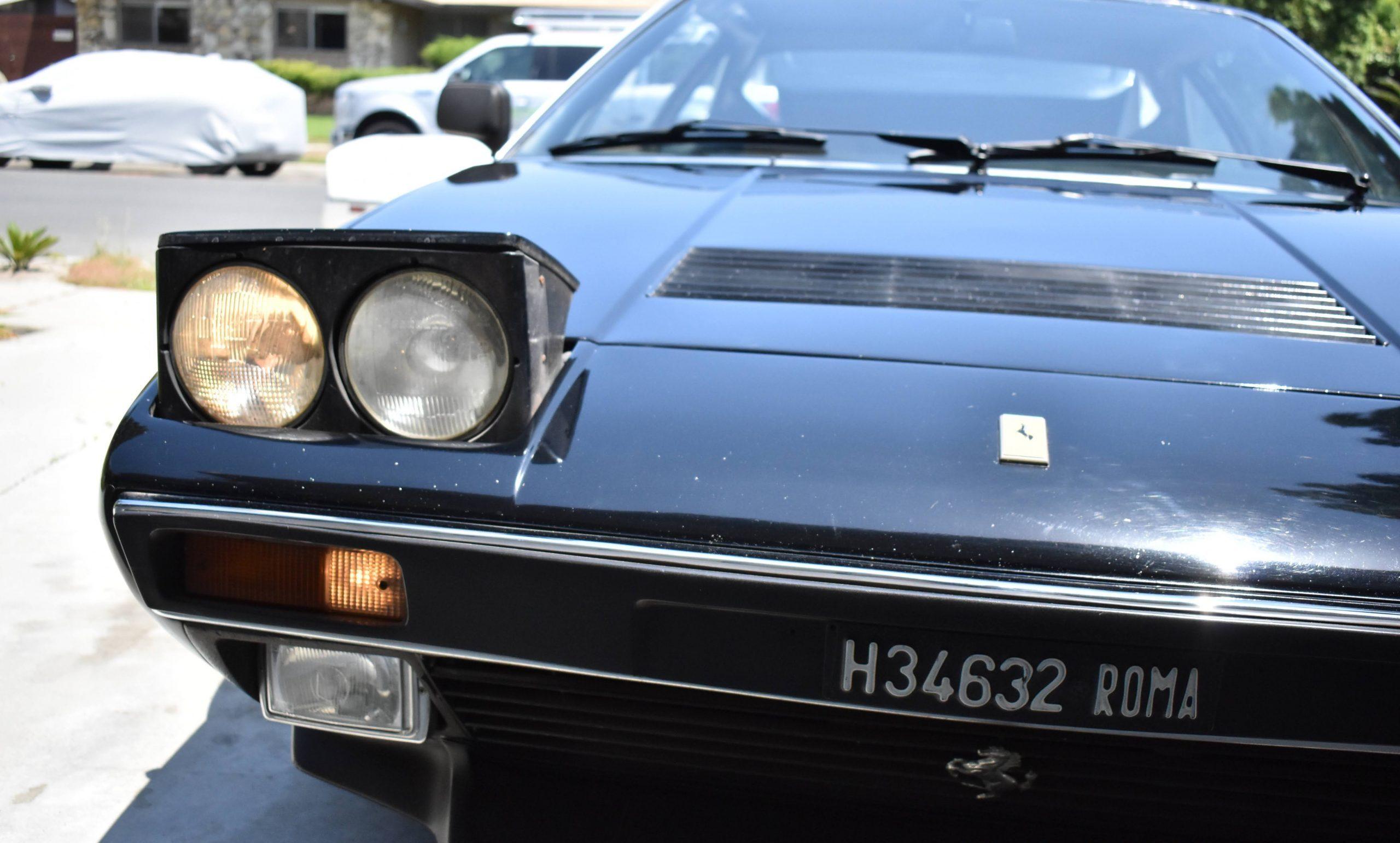 1975-Ferrari-308-GT4 front headlight