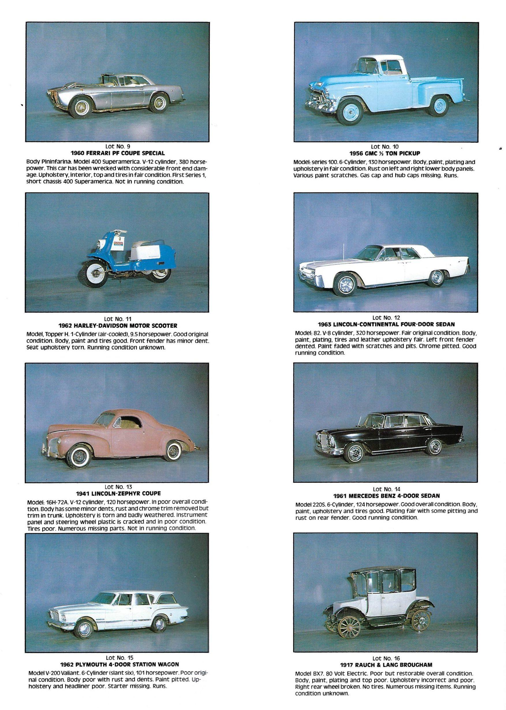 Auction-Magazines listings