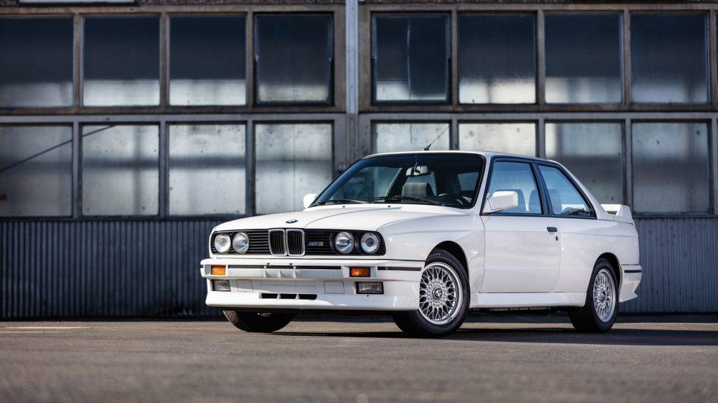 1988 BMW M3 White