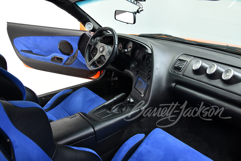1994 Toyota Supra interior