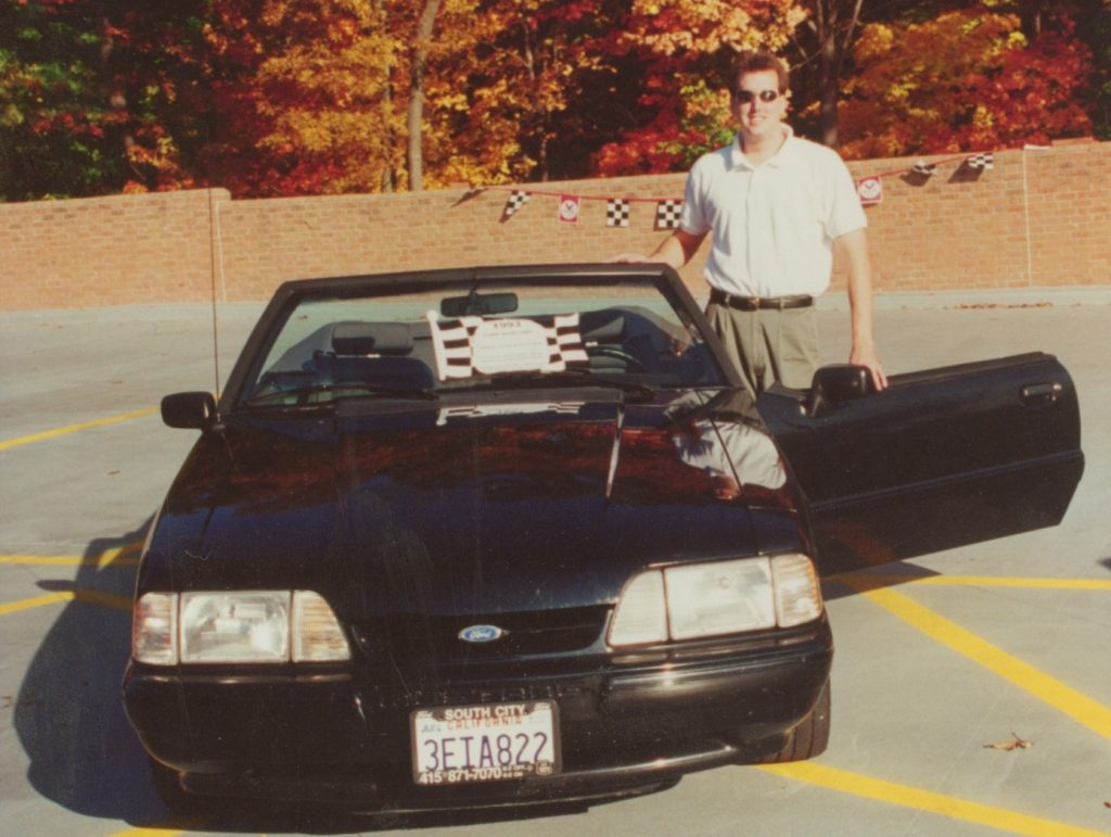1993 Ford Mustang 5.0 convertible
