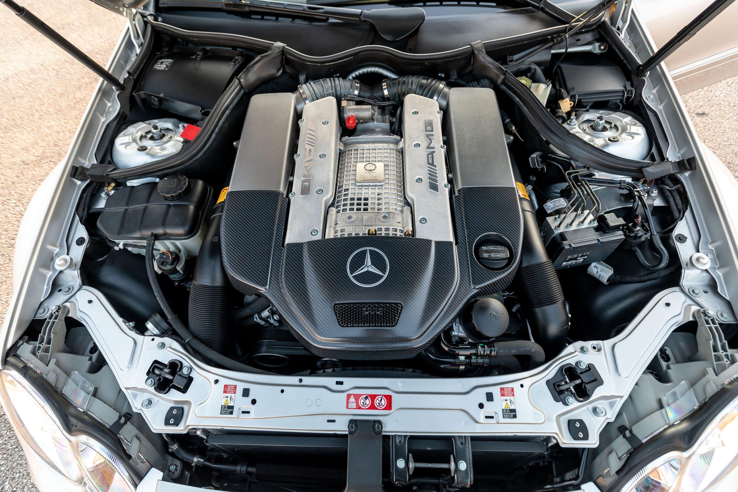 2005 Mercedes Benz CLK DTM AMG engine bay