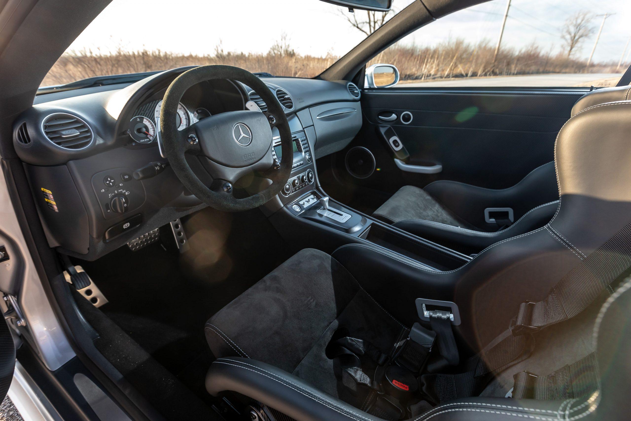 2005 Mercedes Benz CLK DTM AMG interior