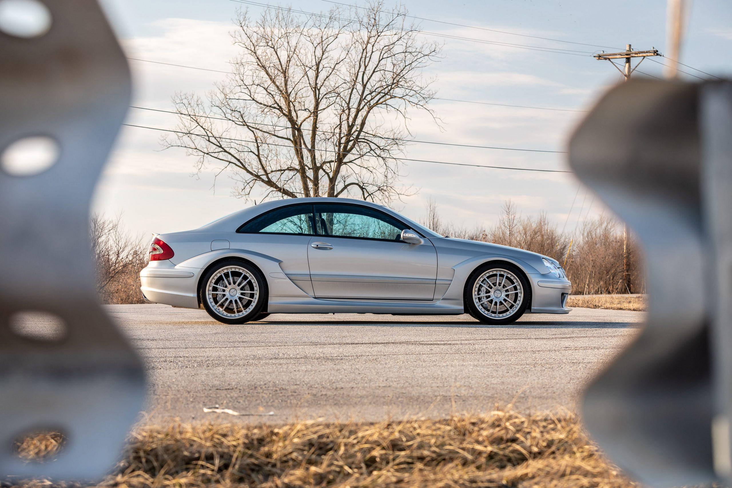 2005 Mercedes Benz CLK DTM AMG side profile