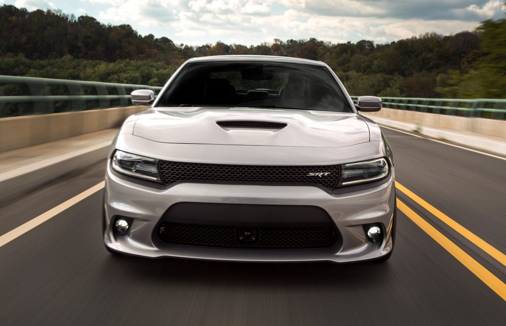 2015_SRT_Charger front action