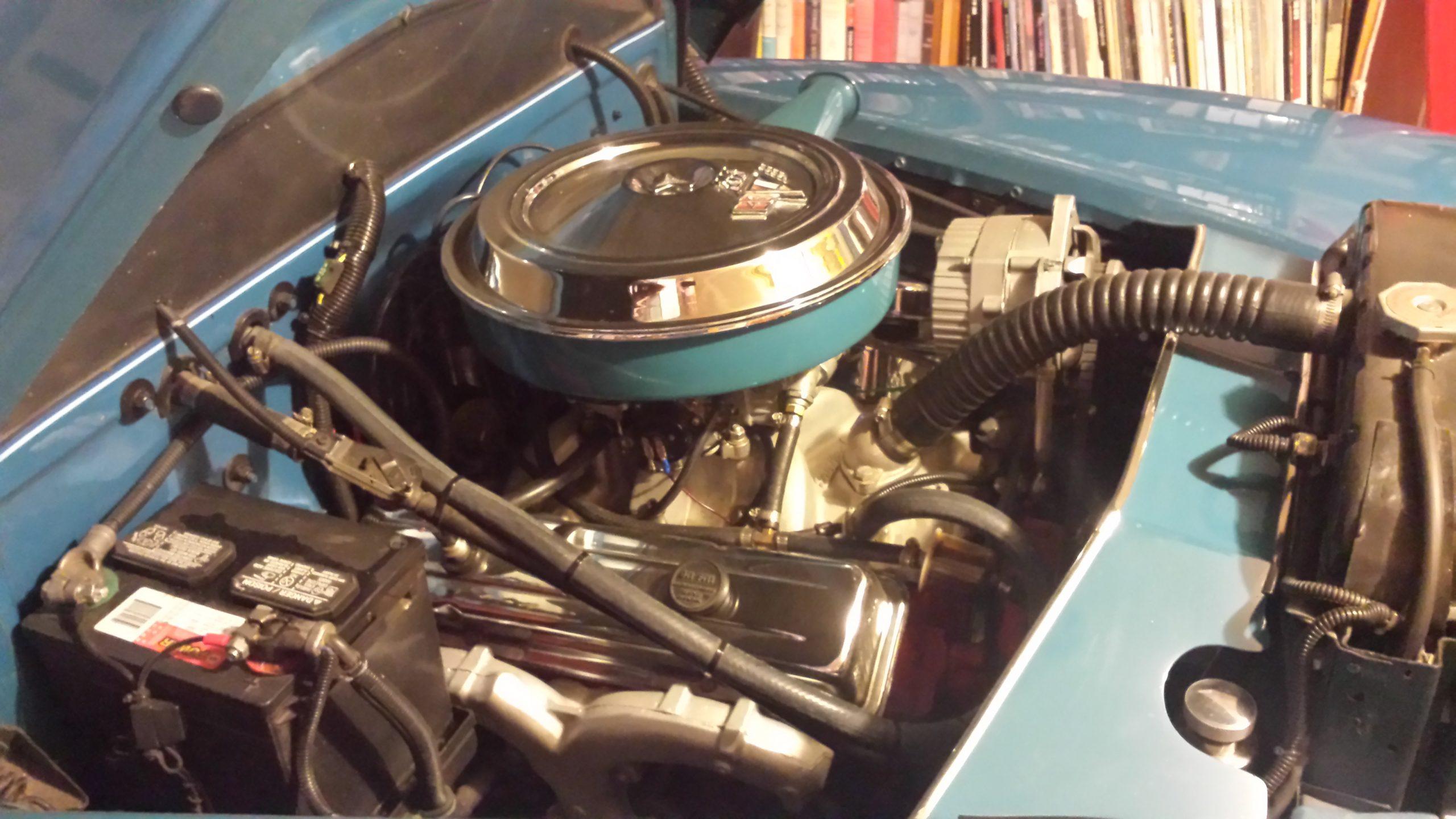 1948 Chevrolet Fleetmaster engine