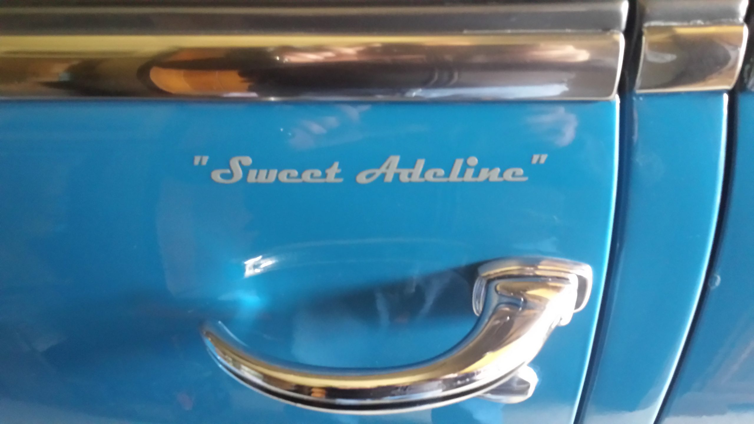 1948 Chevrolet Fleetmaster sweet adeline logo