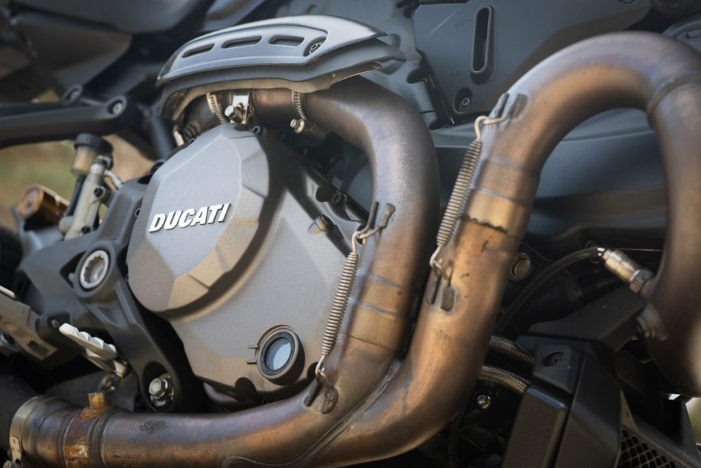 Ducati Monster engine detail