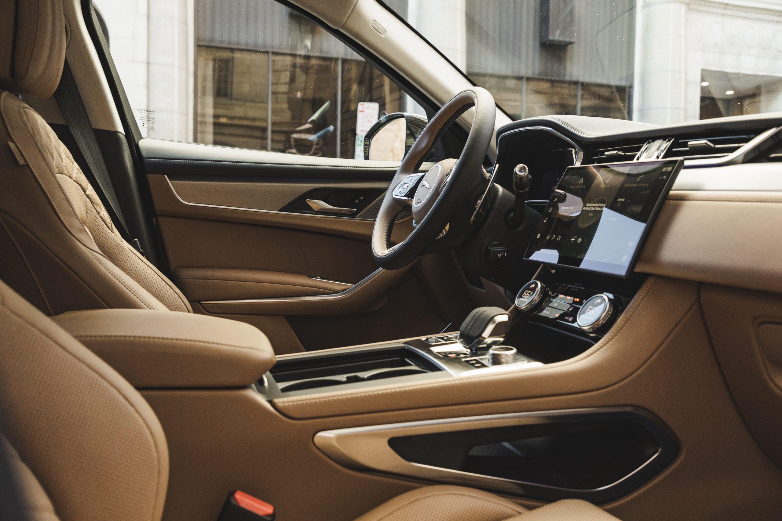 2021 Jaguar F-PACE S P340 interior