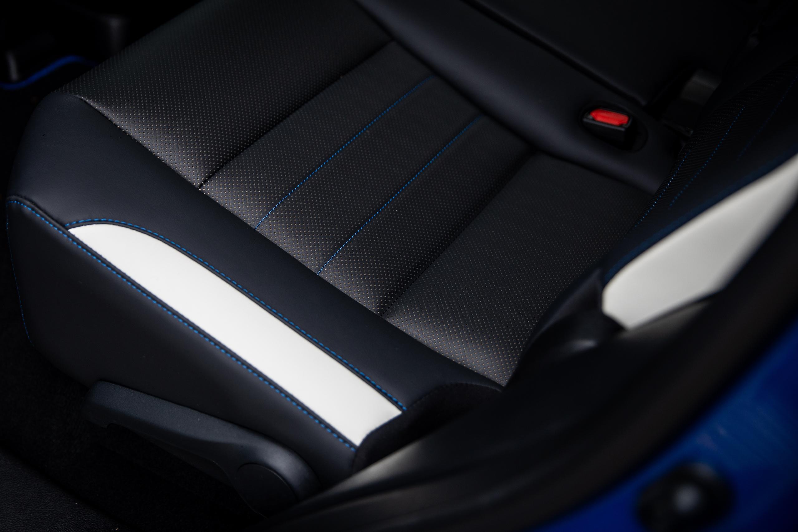 2021 Lexus RX450h interior seat cushion detail
