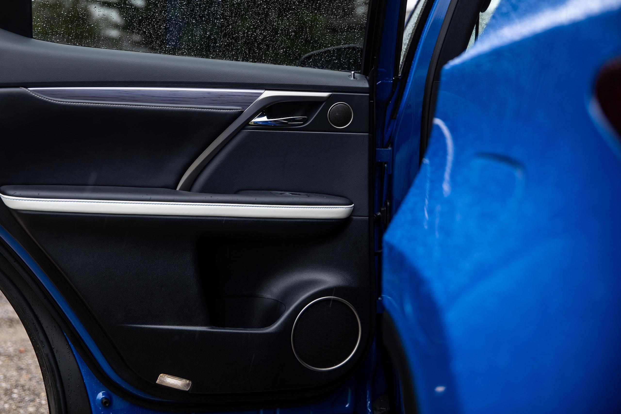 2021 Lexus RX450h door panel detail