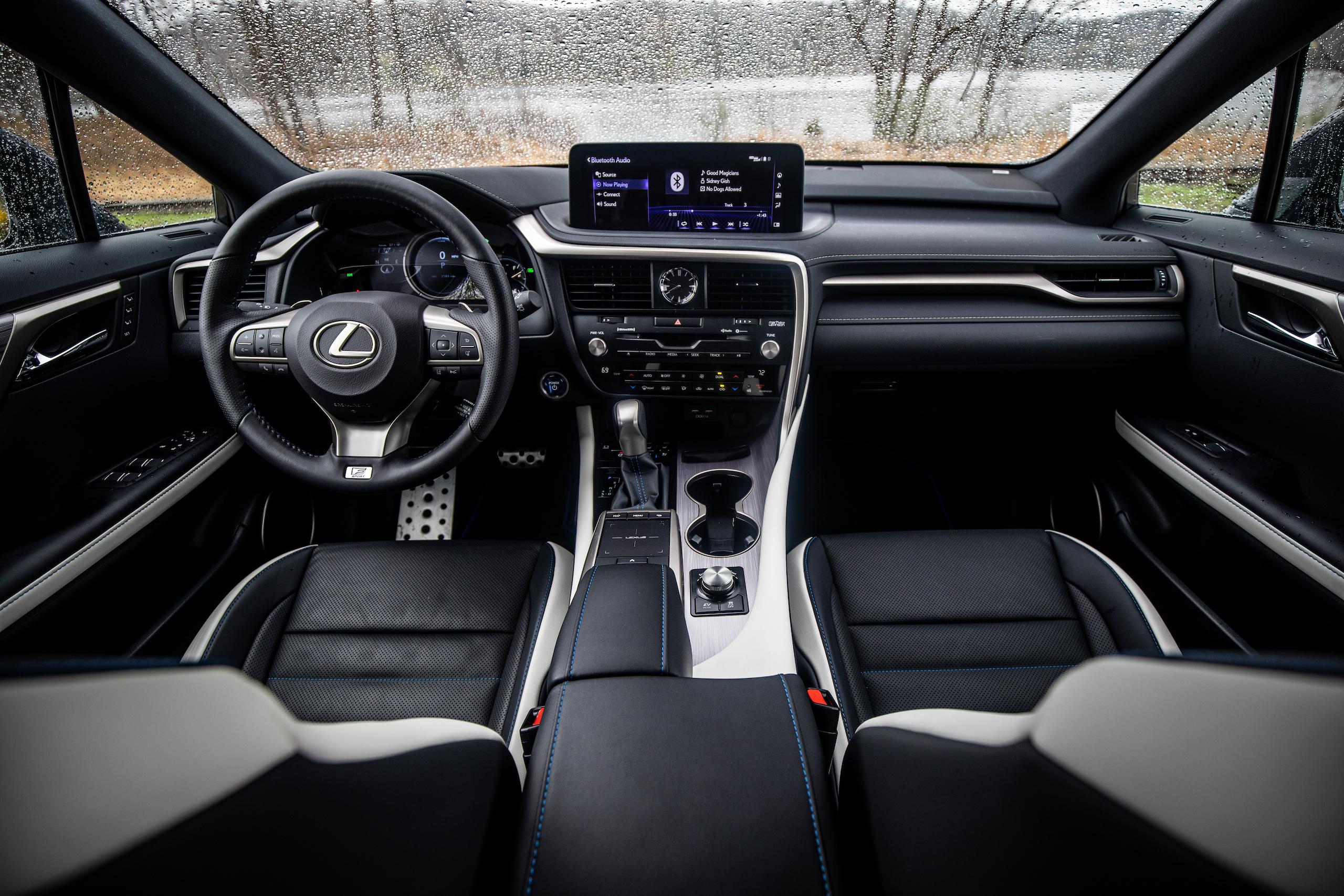 2021 Lexus RX450h interior front