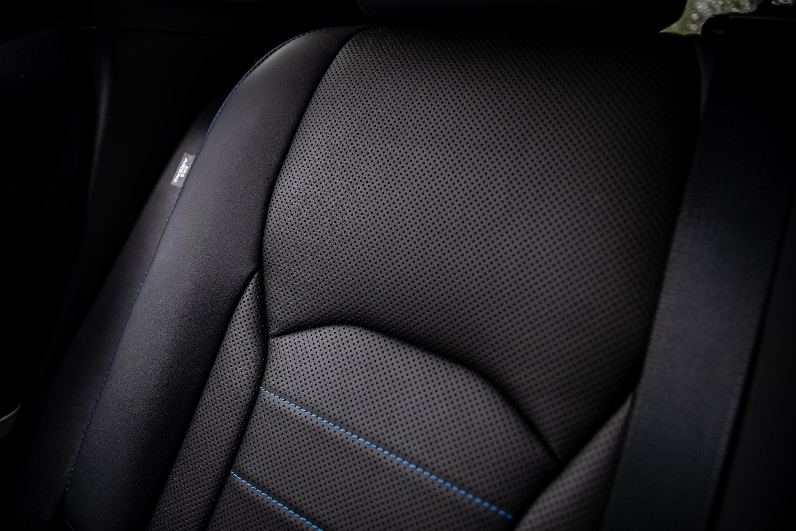 2021 Lexus RX450h interior seat perforations