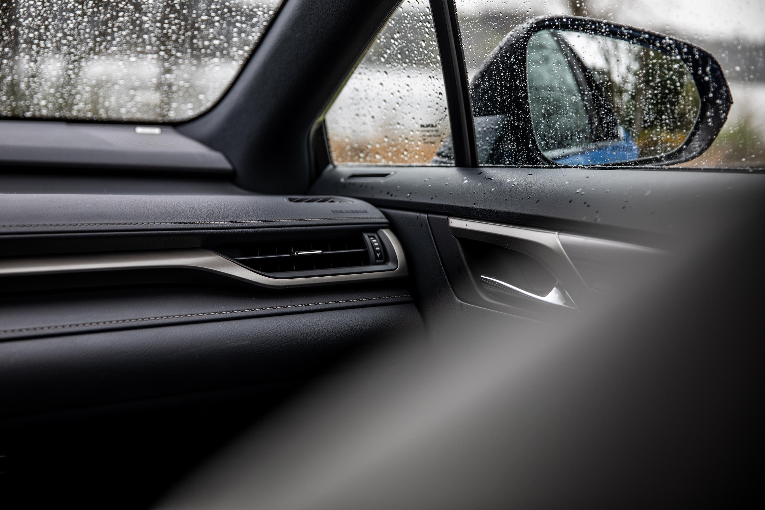 2021 Lexus RX450h interior passenger dash trim