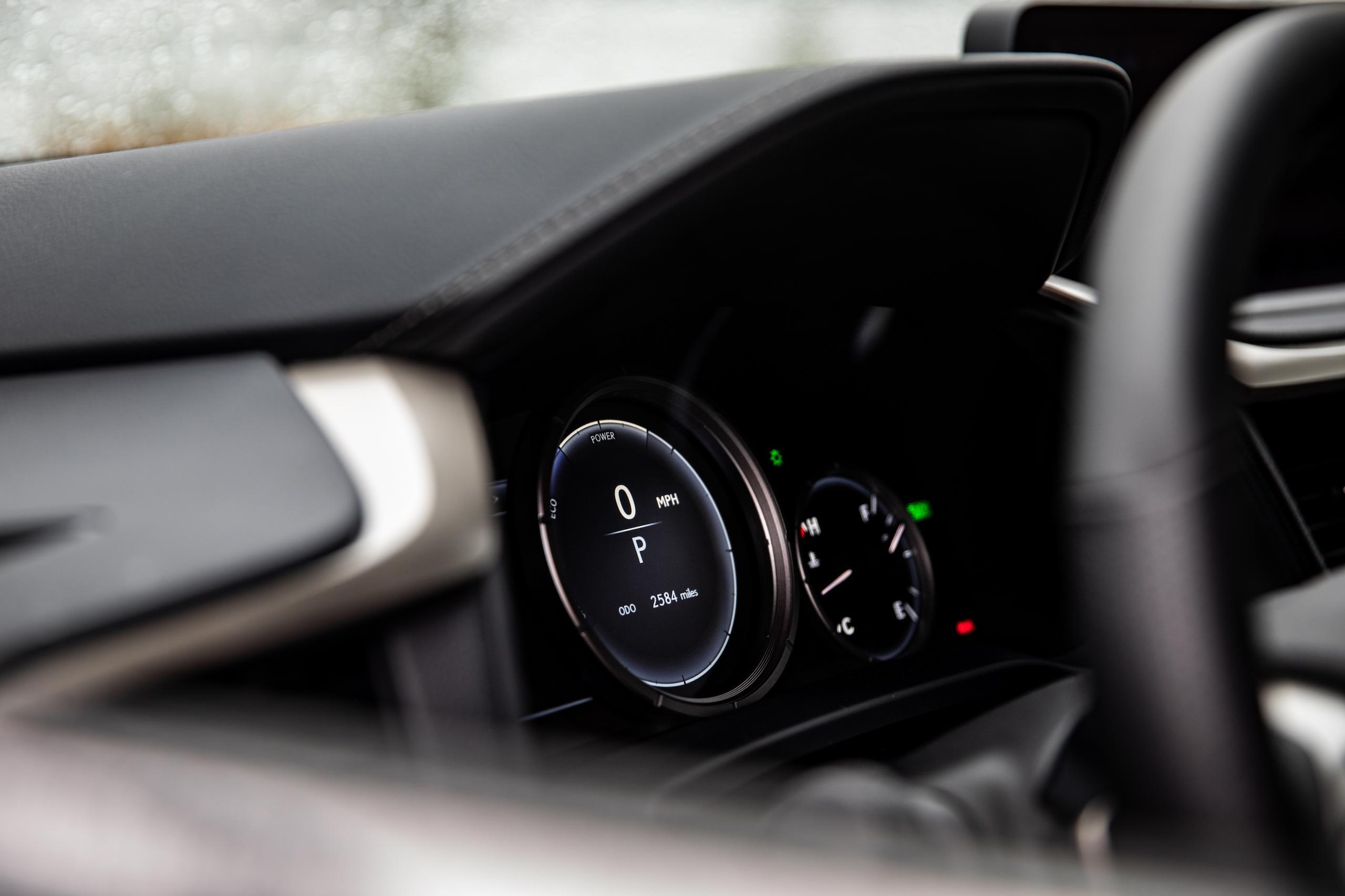 2021 Lexus RX450h interior dash