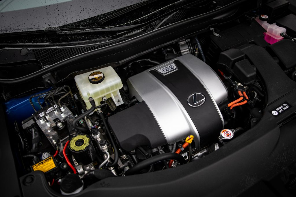 2021 Lexus RX450h engine