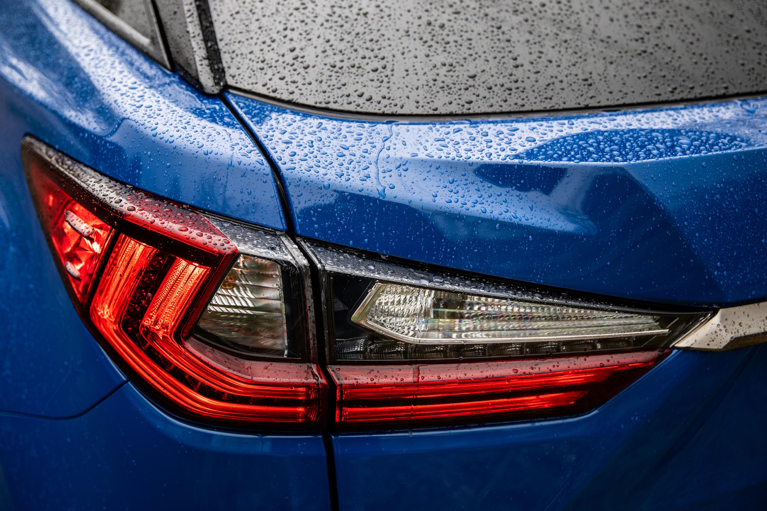 2021 Lexus RX450h rear taillight