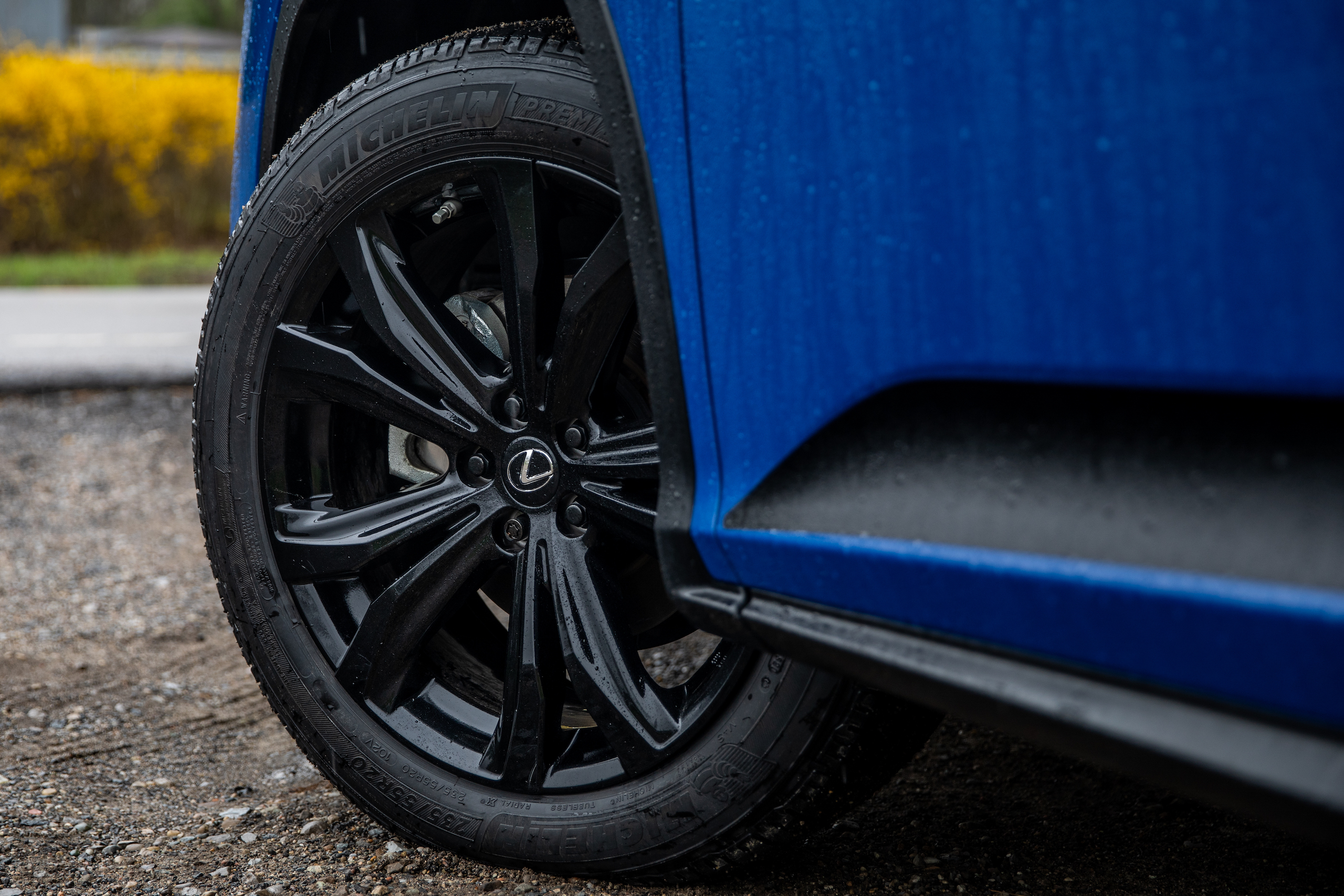 2021 Lexus RX450h wheel and tire