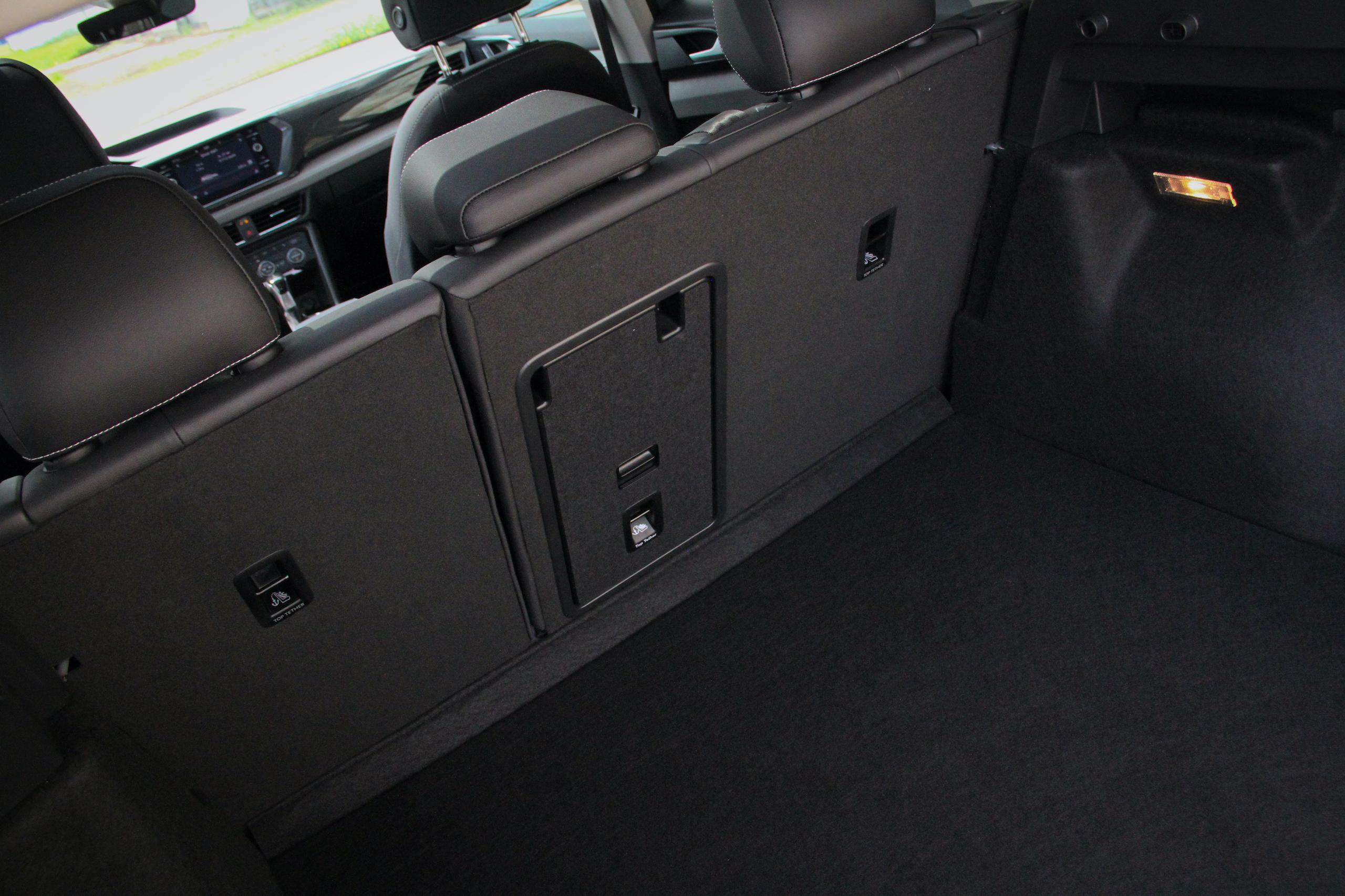 2022 Volkswagen Taos SEL AWD rear cargo space