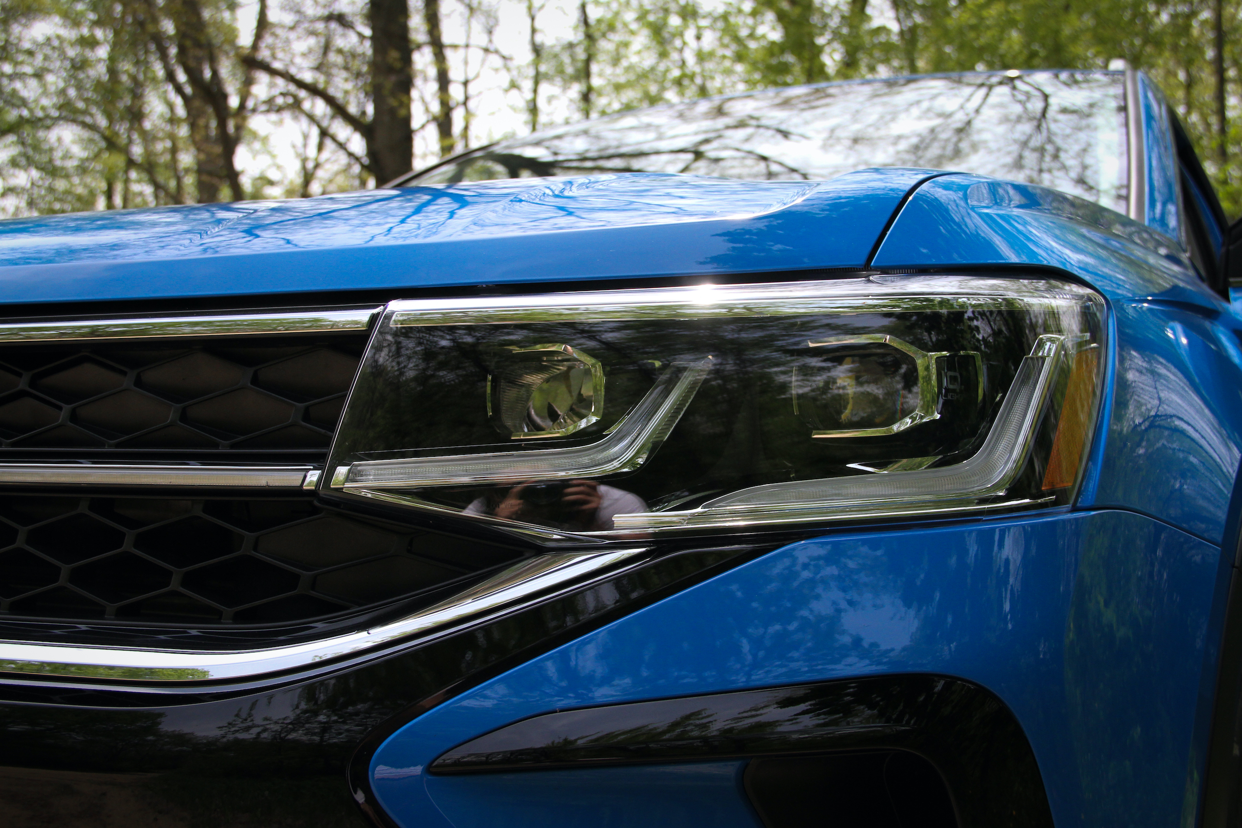 2022 Volkswagen Taos SEL headlight