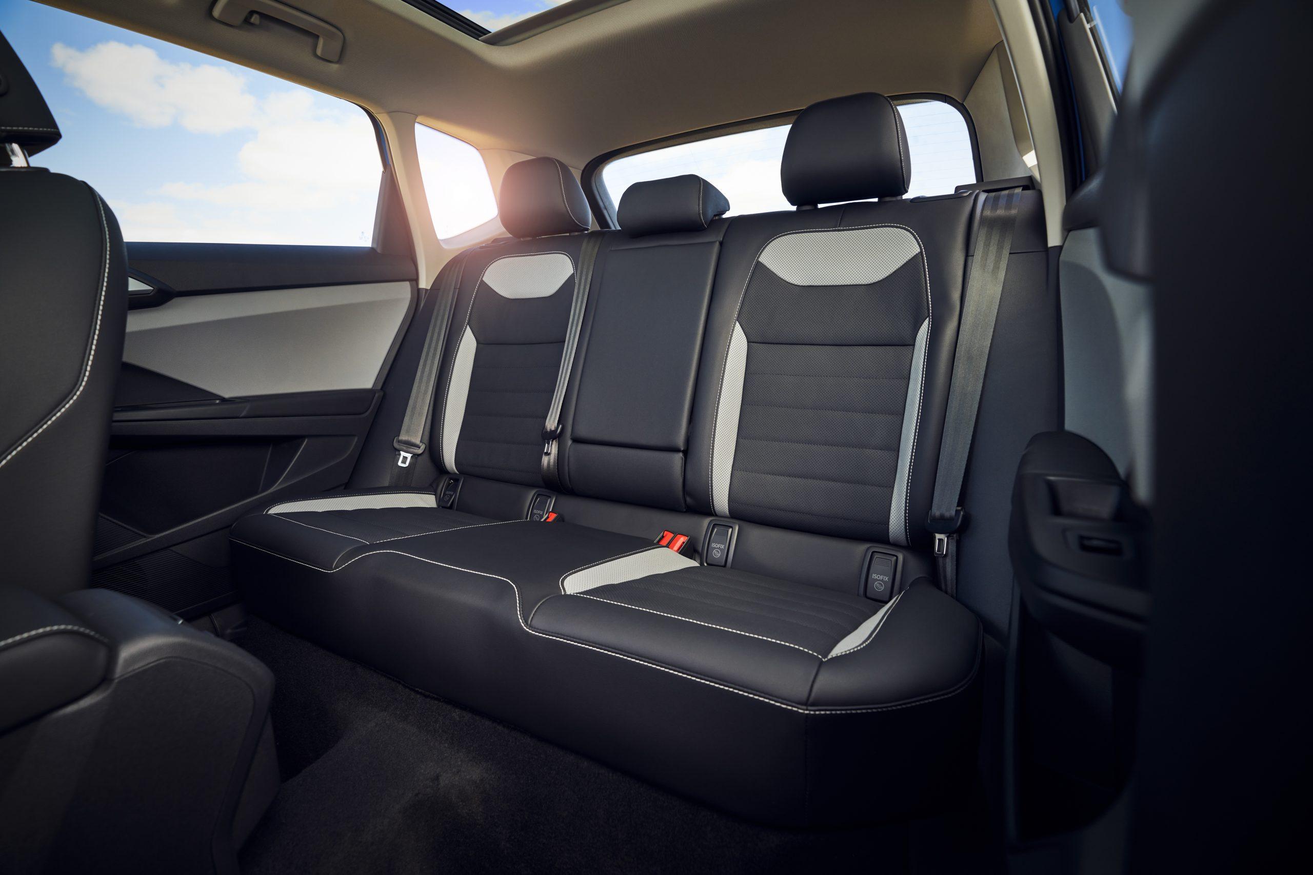 2022 Volkswagen Taos interior rear seat