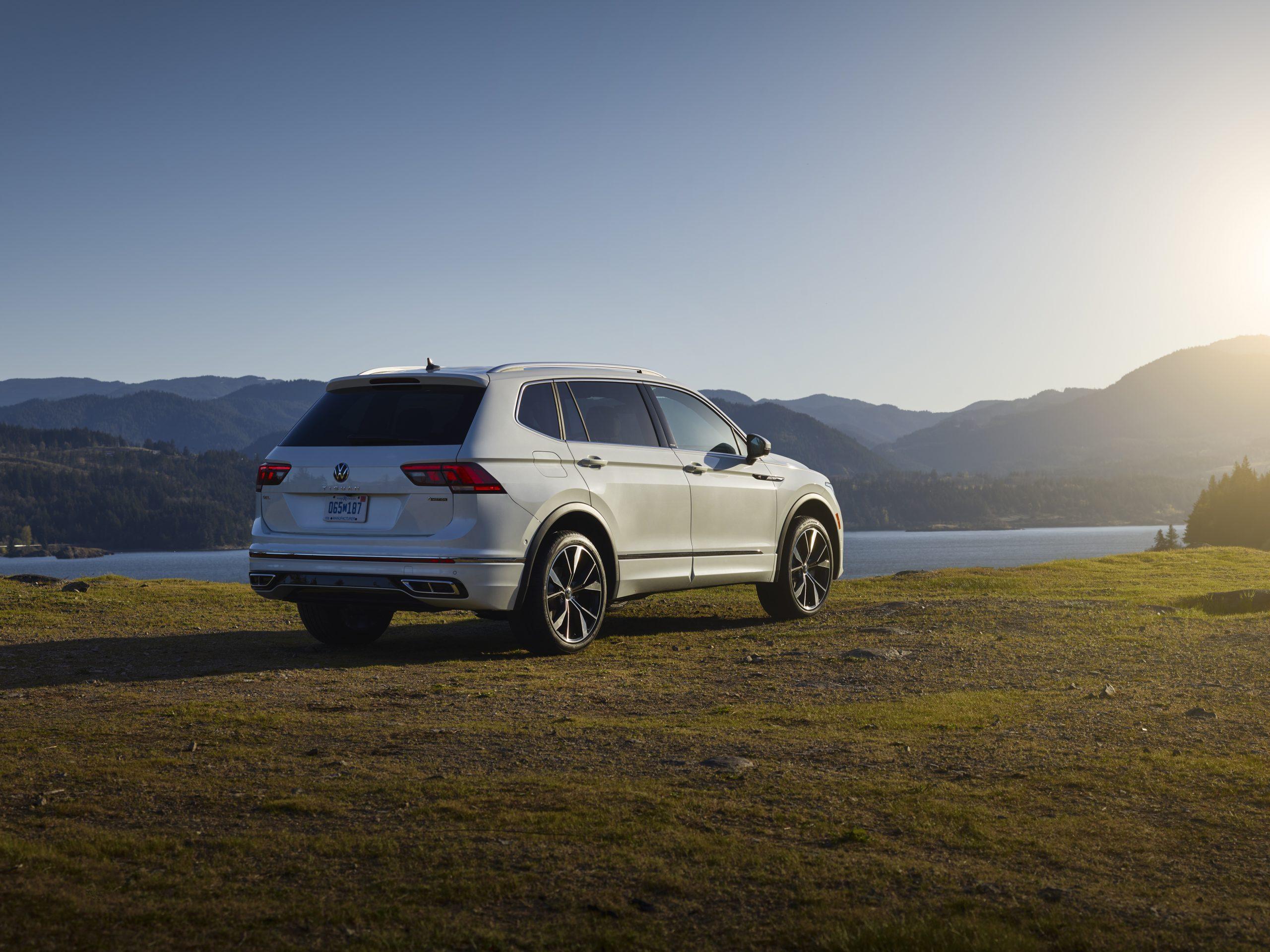 2022 VW Tiguan facelift outside