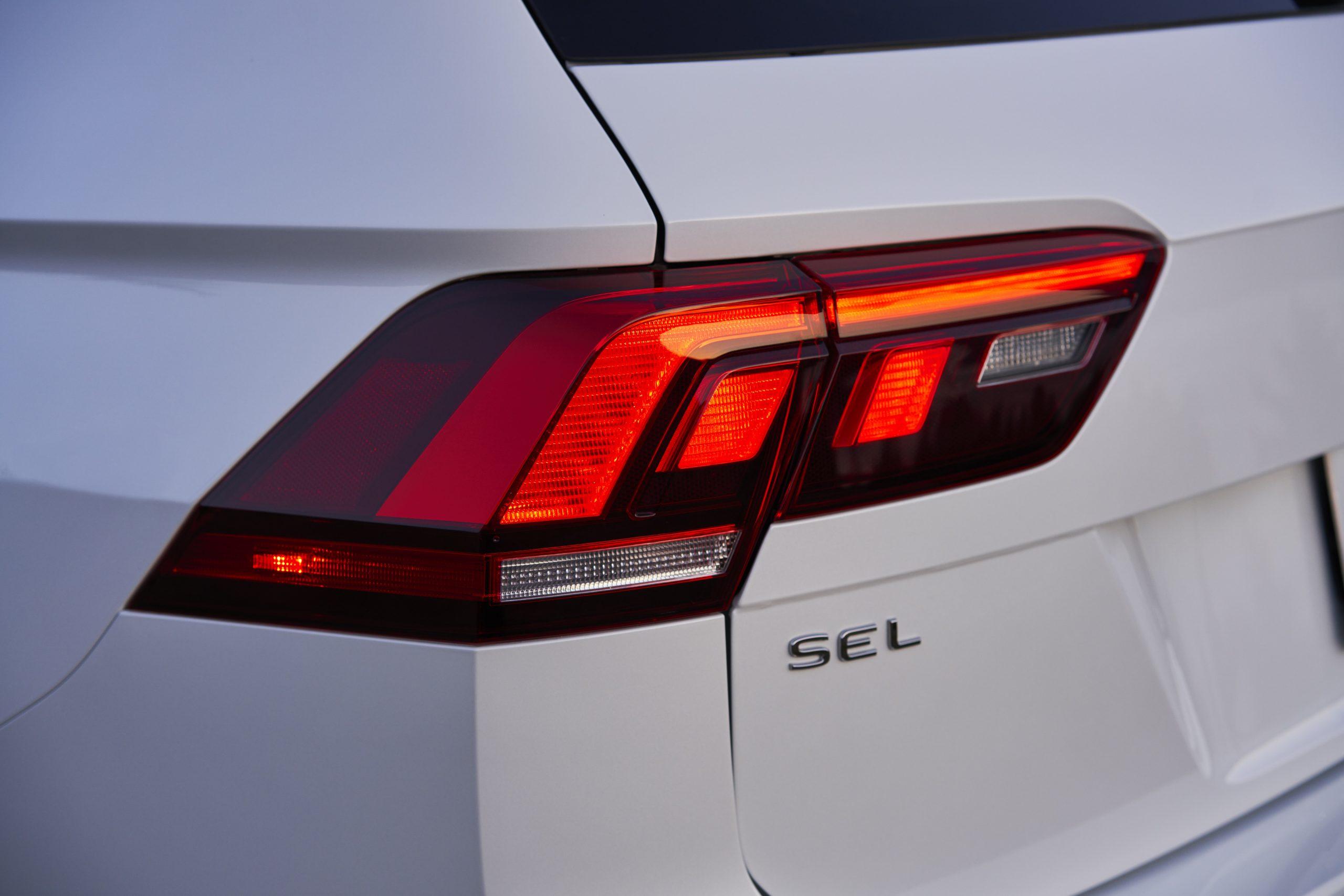 2022 VW Tiguan facelift taillight