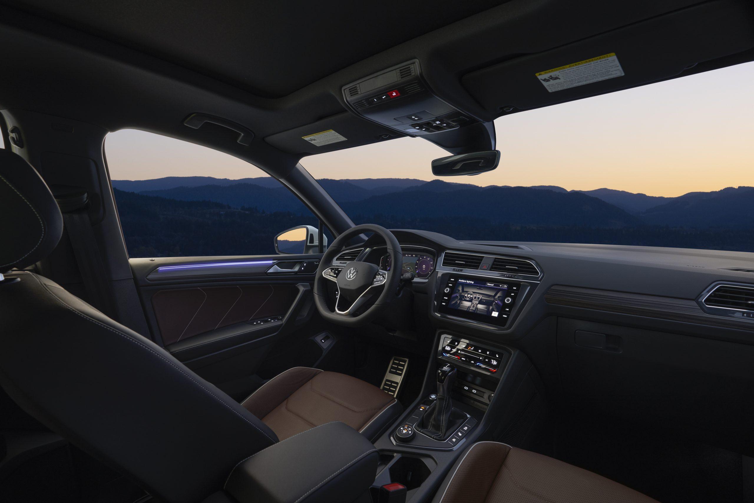 2022 VW Tiguan facelift interior