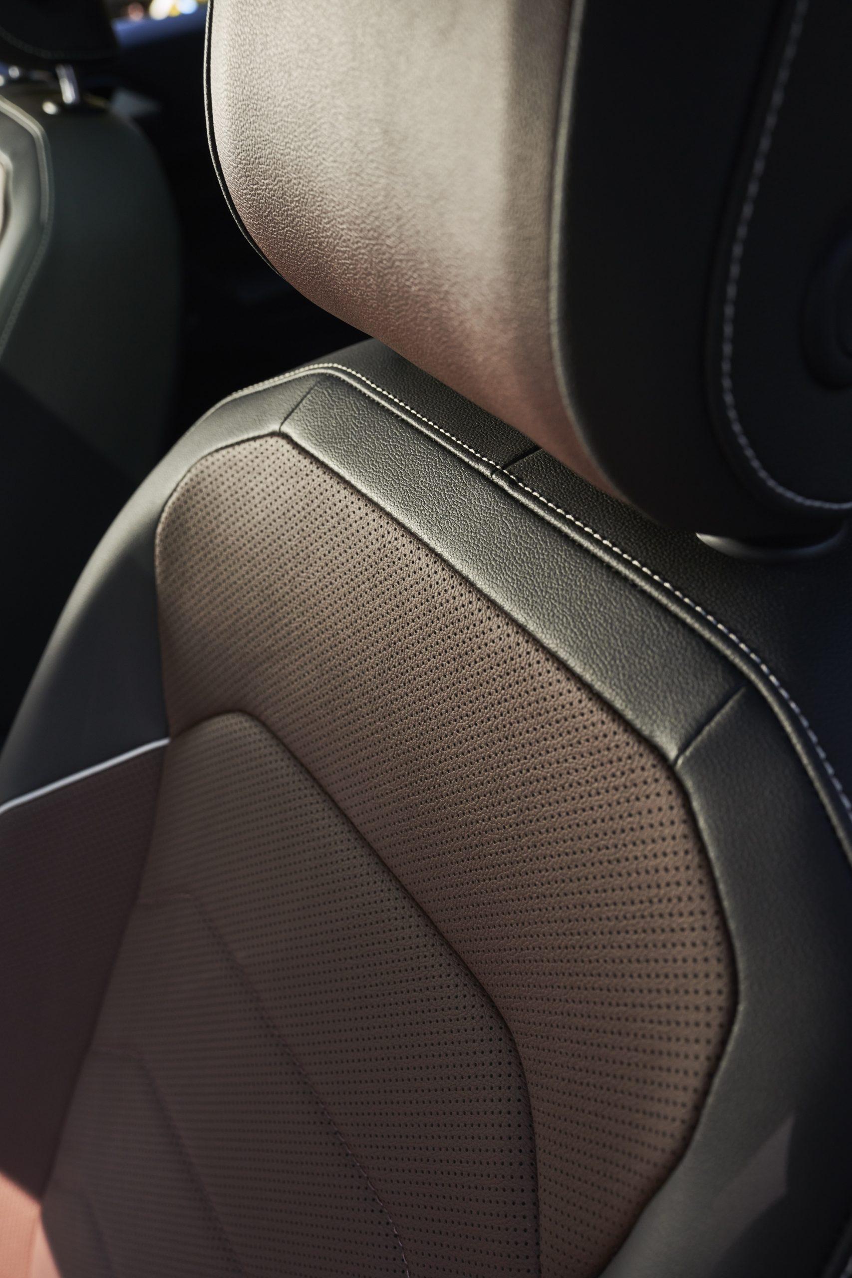 2022 VW Tiguan facelift interior seat leather