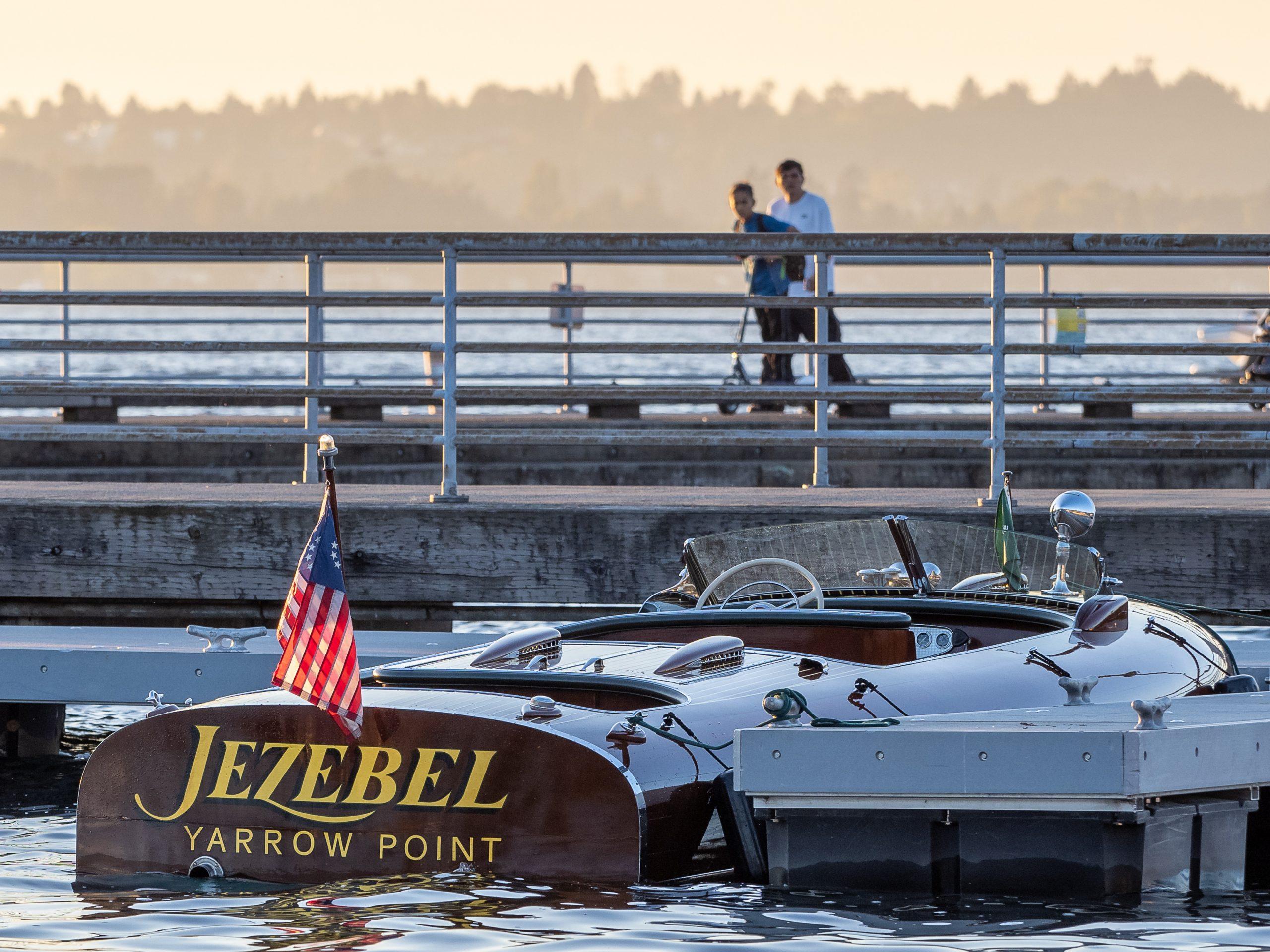 Al McEwan boat yarrow point harbor
