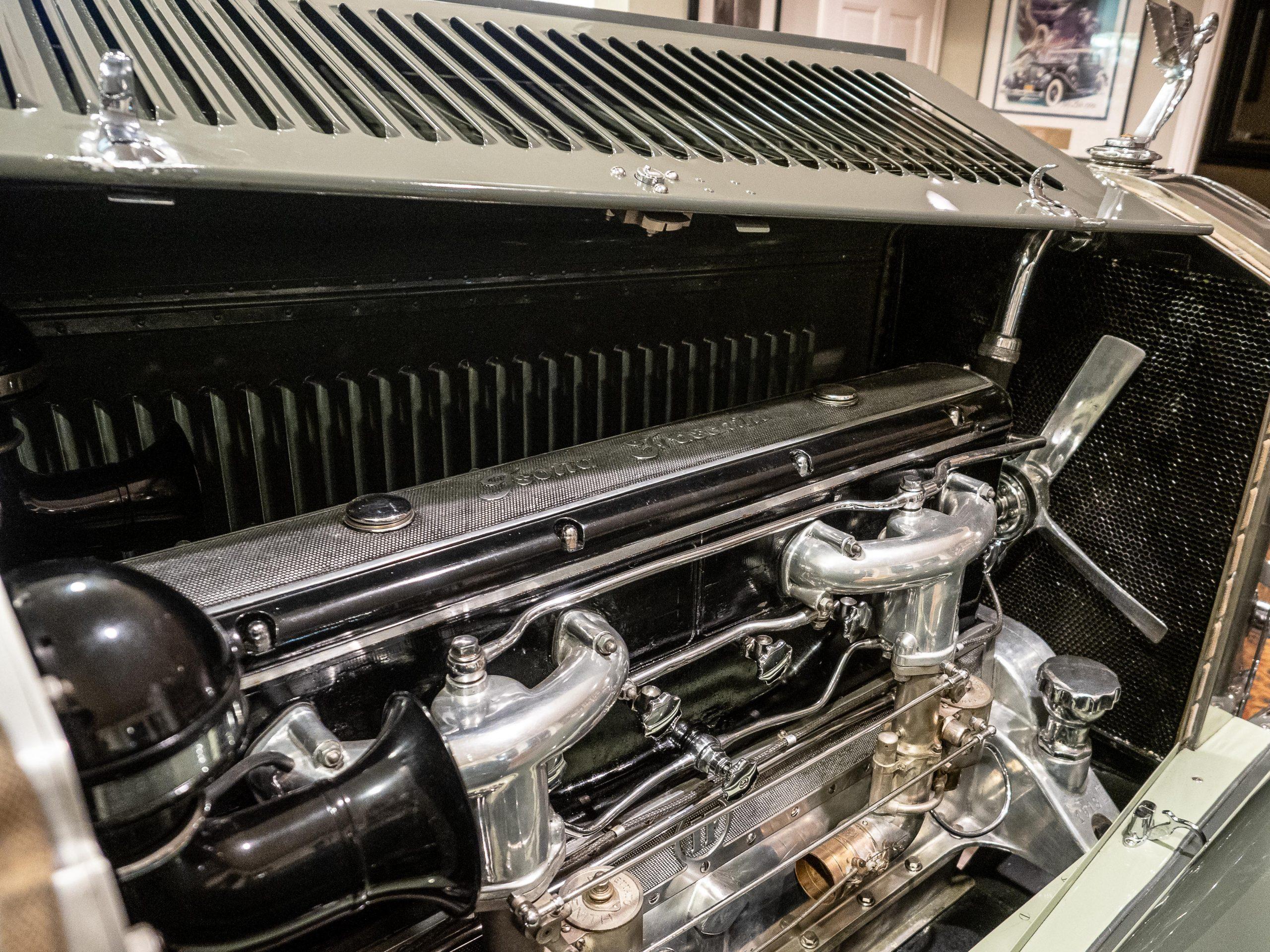 Al McEwan LF car engine