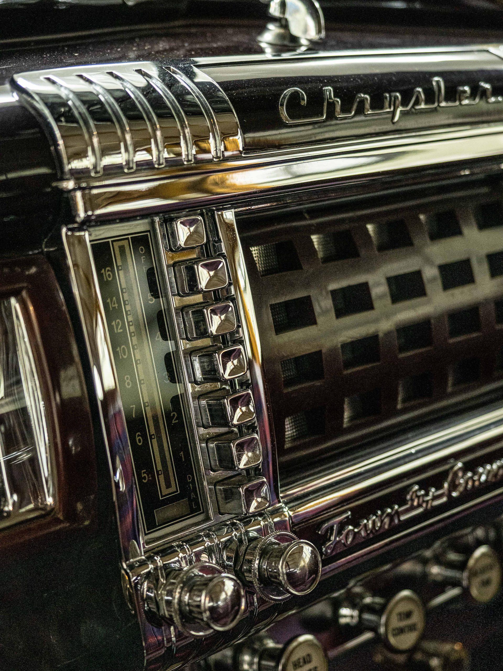 Al McEwan chrysler dash button detail