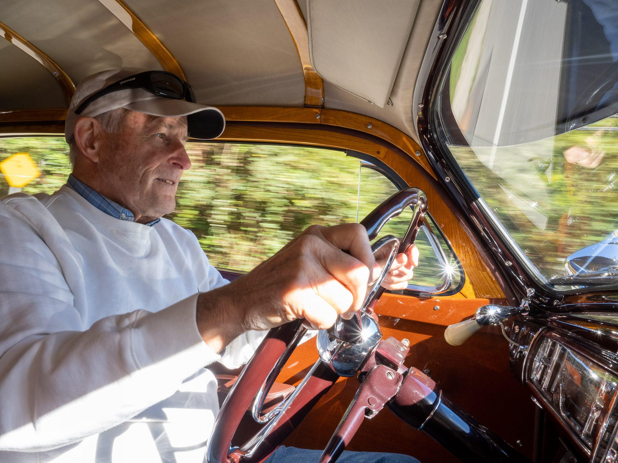 Al McEwan interior driving action