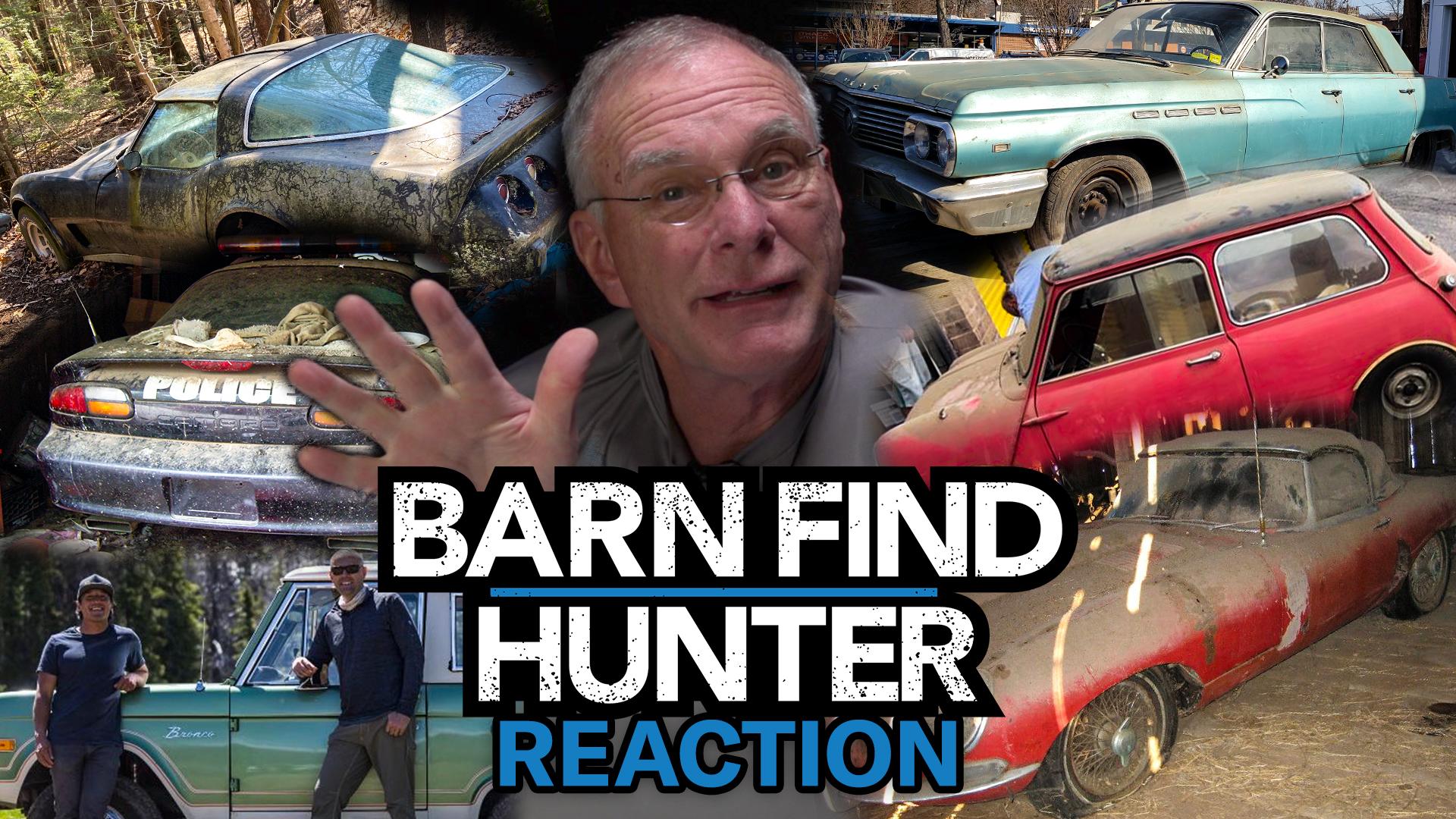 Barn Find Hunter reaction series pt II