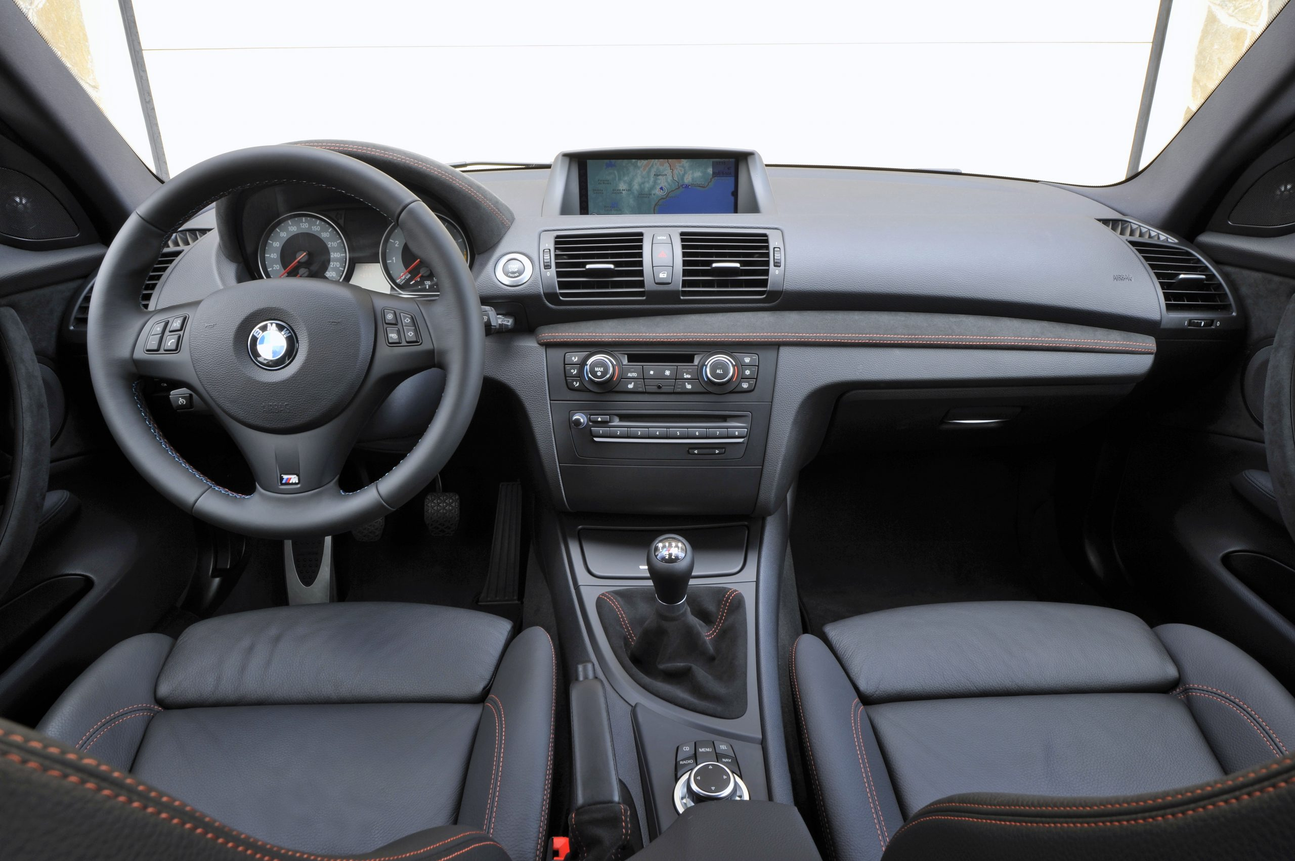 BMW 1 Series M Coupe interior front