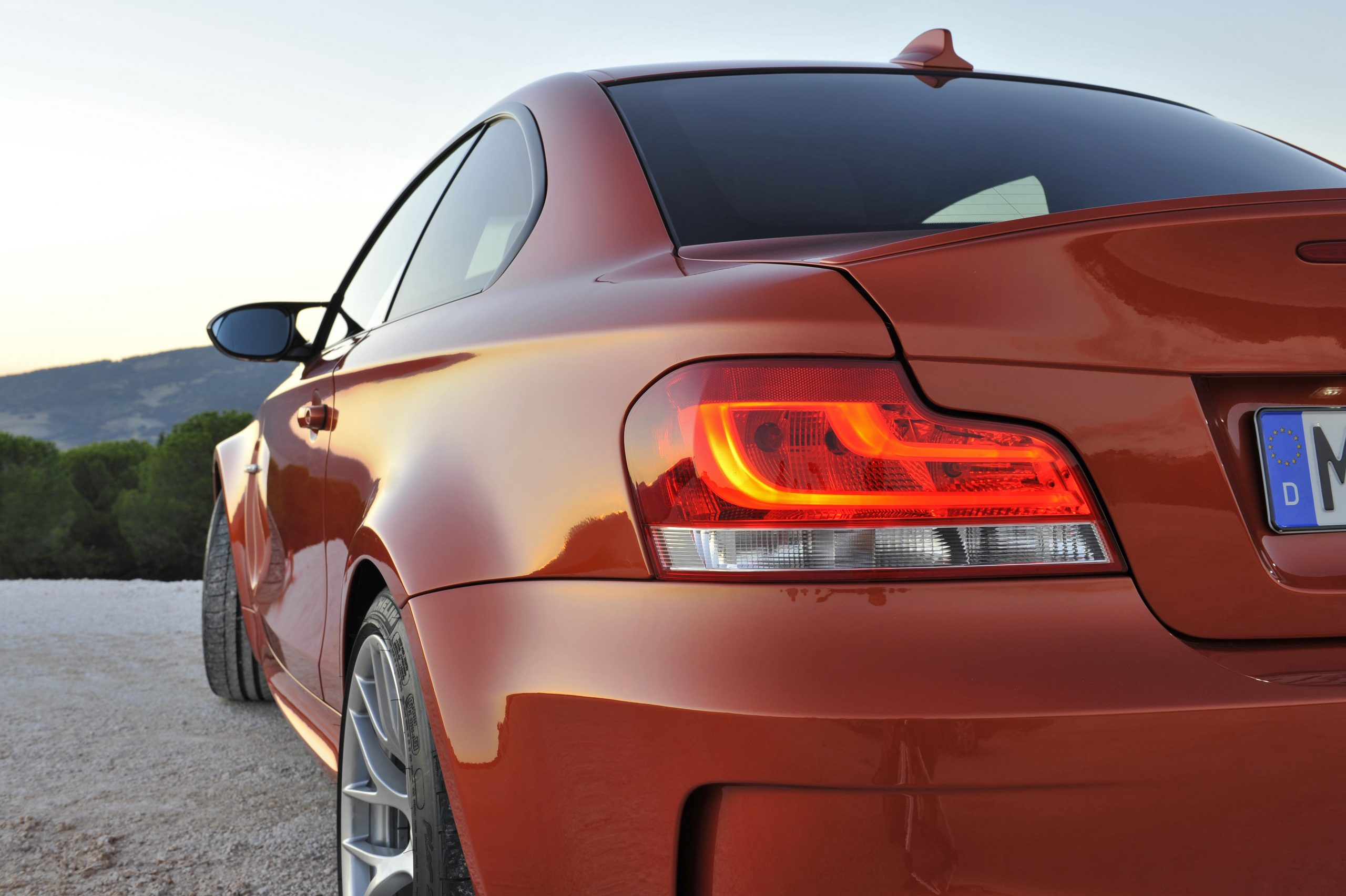BMW 1 Series M Coupe rear side taillight