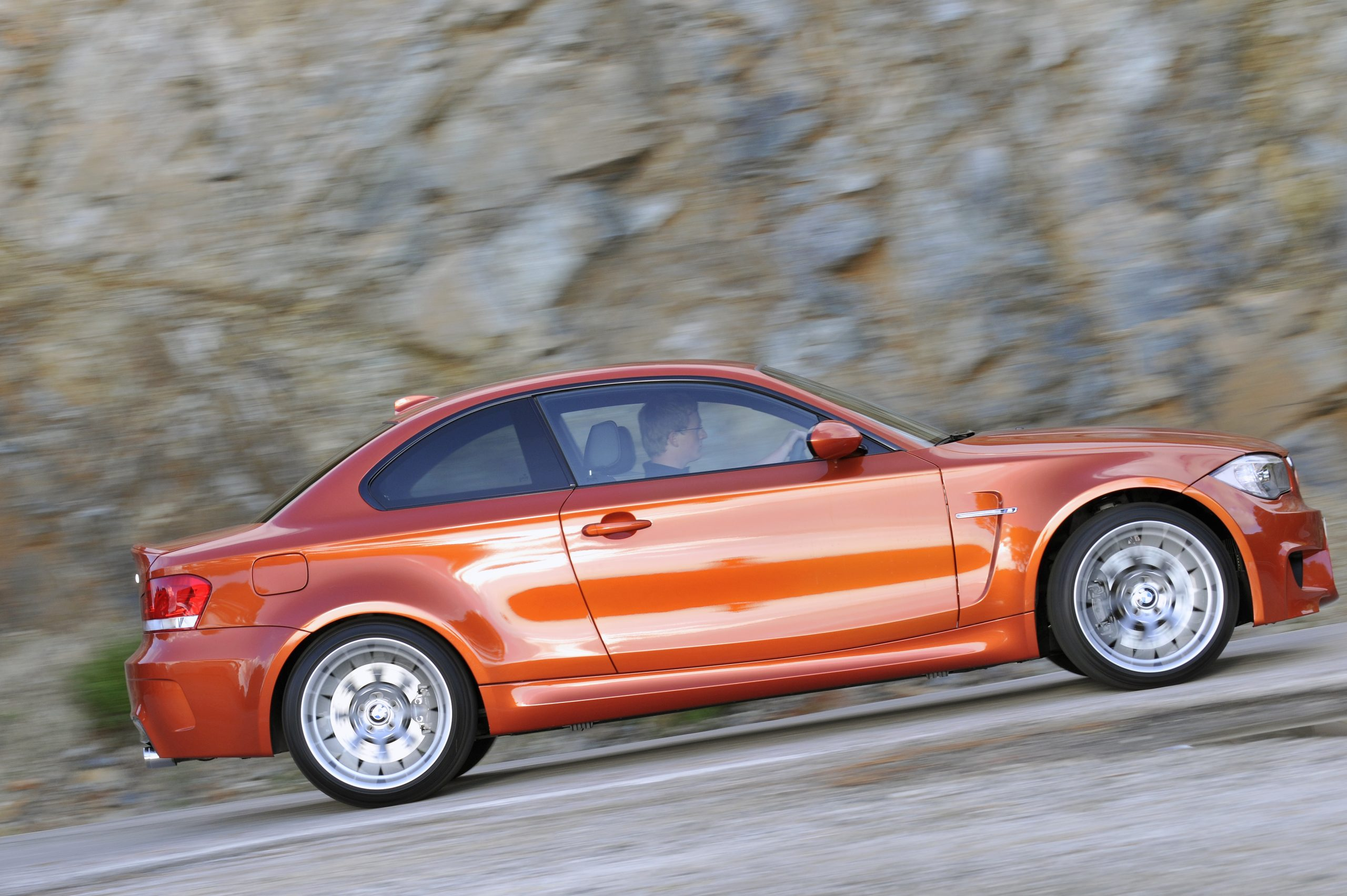 BMW 1 Series M Coupe side profile