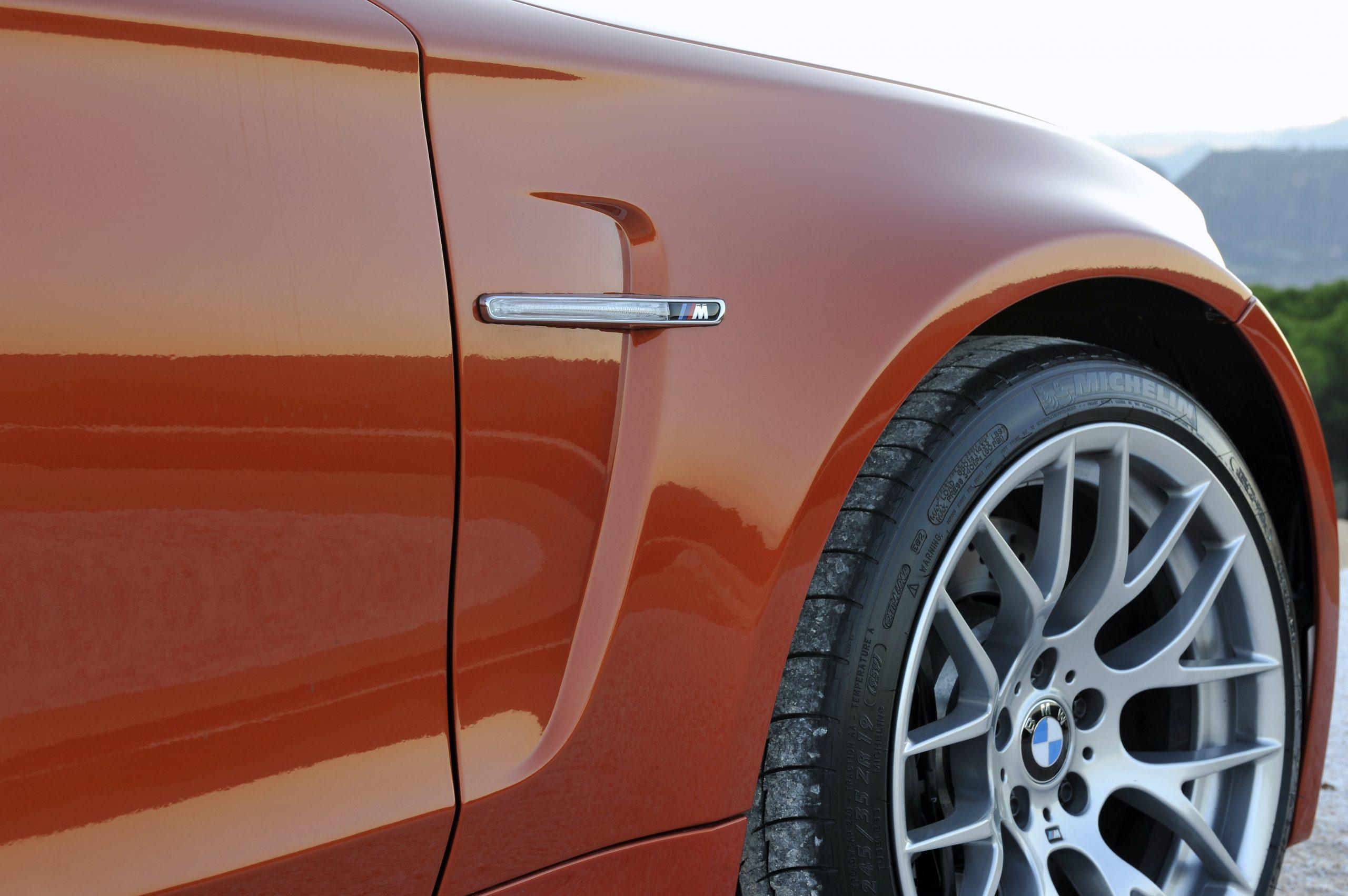 BMW 1 Series M Coupe front quarter panel