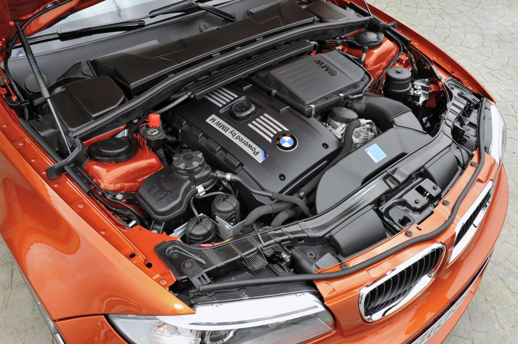BMW 1 Series M Coupe engine