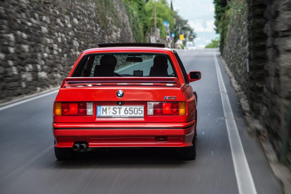 BMW-m3-e30-rear