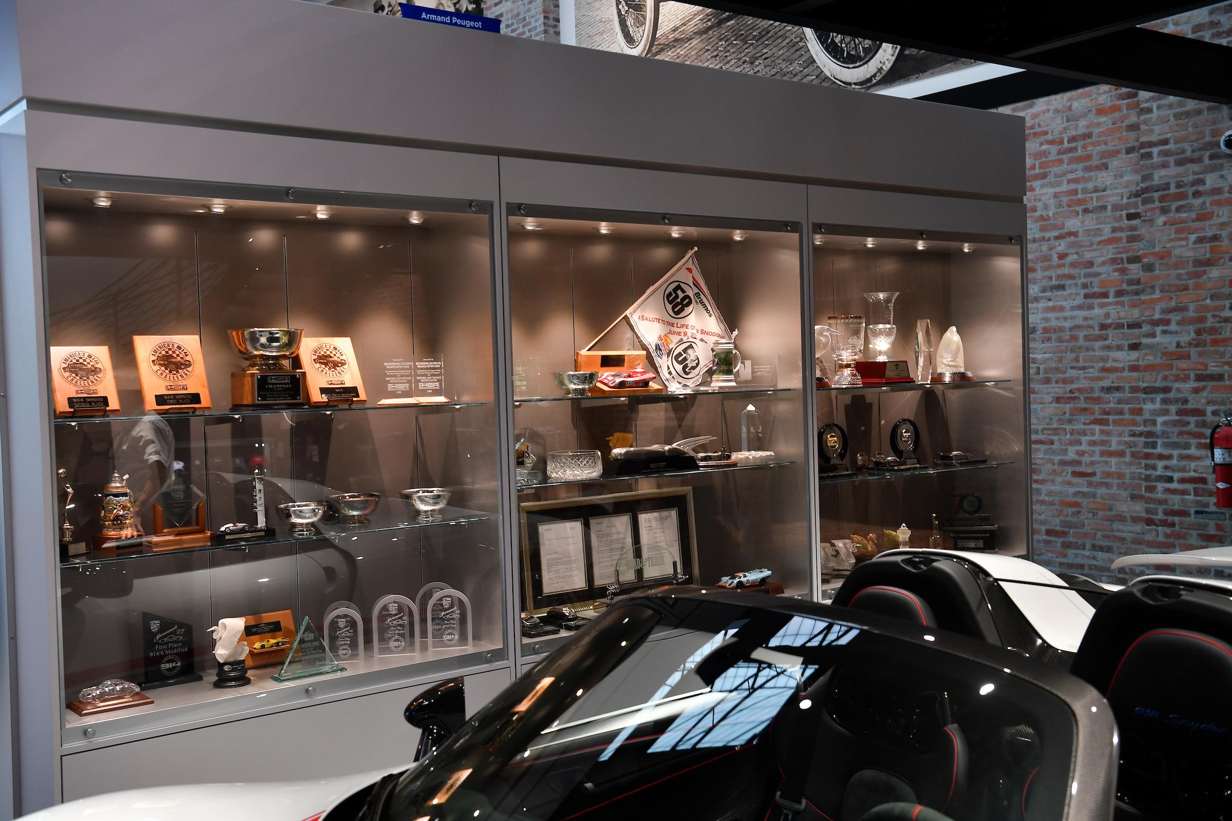 Brumos Collection Trophy Case