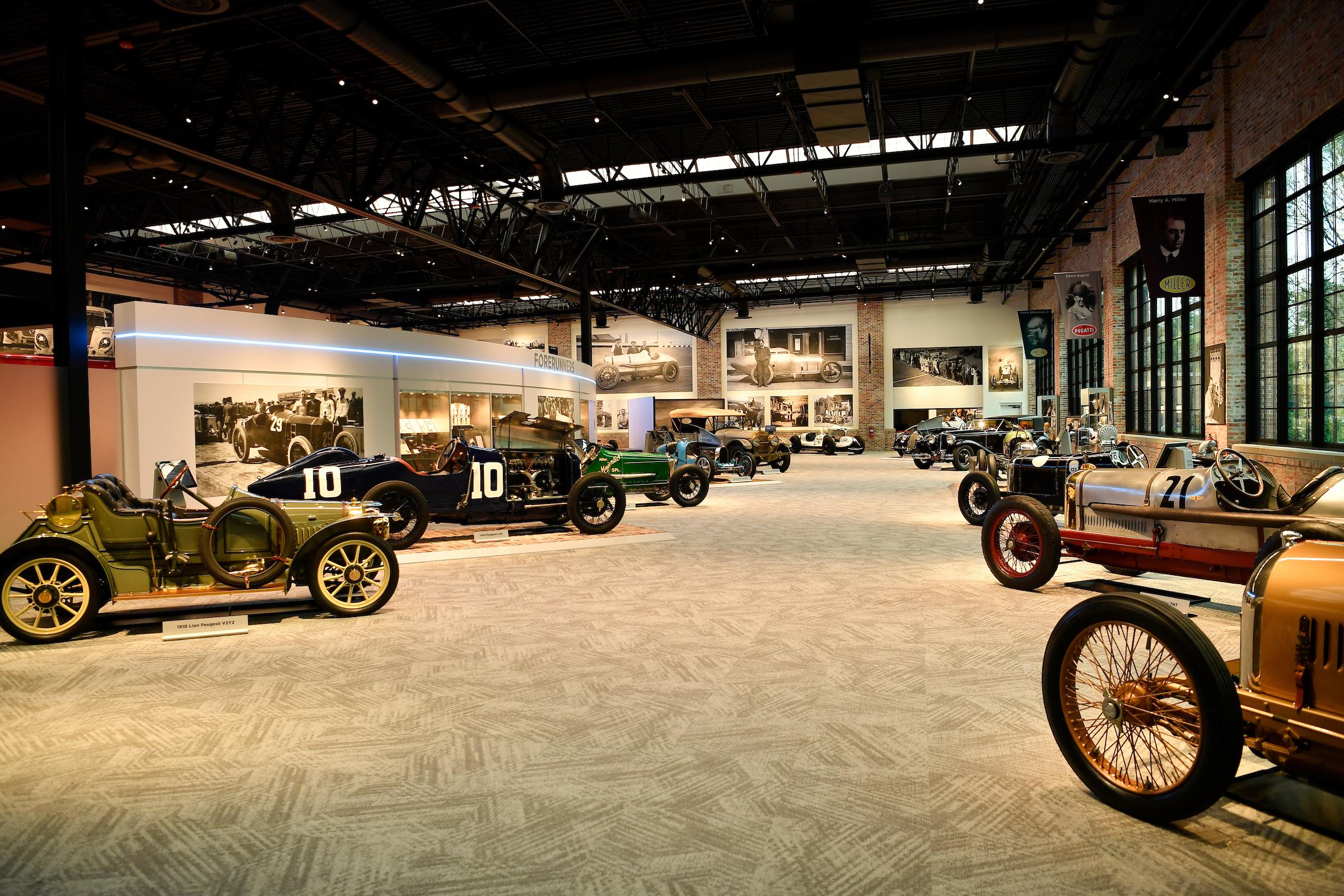 Brumos Collection vintage racecars