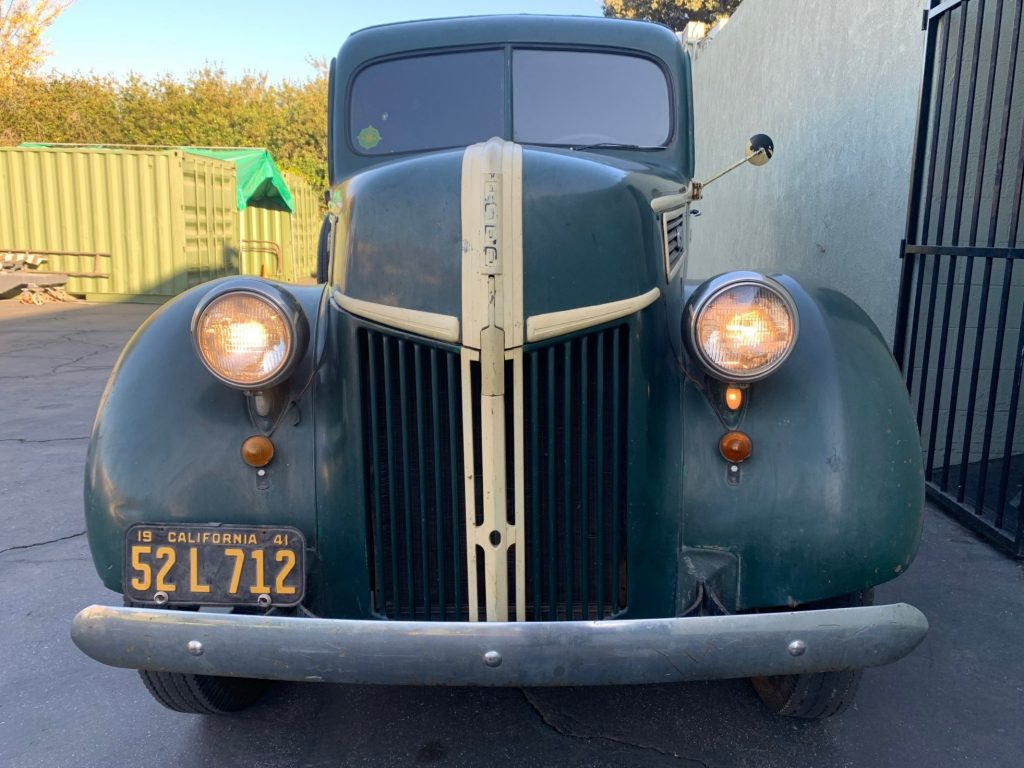 Camp Agawak 1941 Ford truck - front
