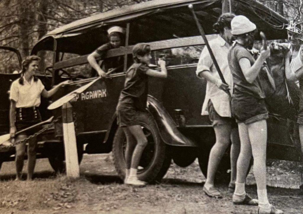 camp agawak vintage truck