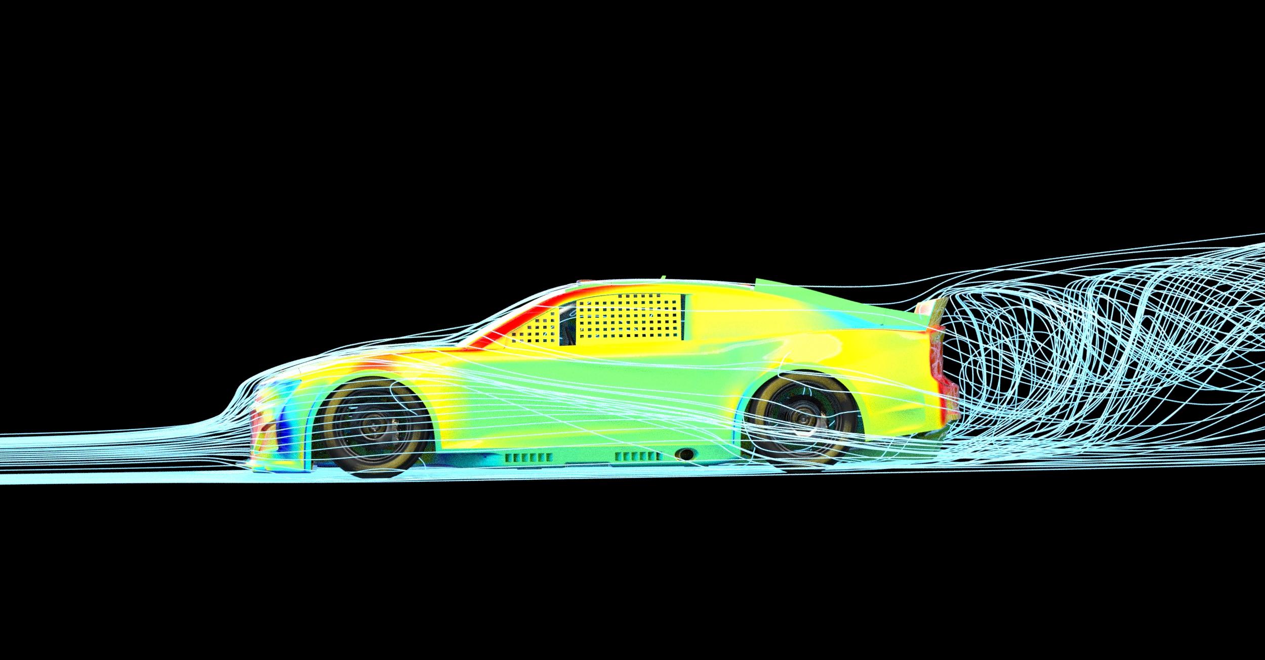 NASCAR Chevrolet Stock Car aero
