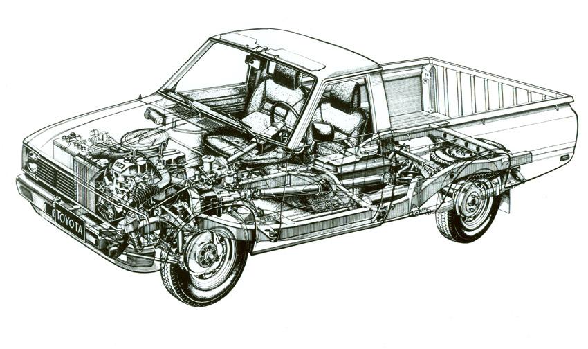 1979 SR5 Halfton Truck Drawing