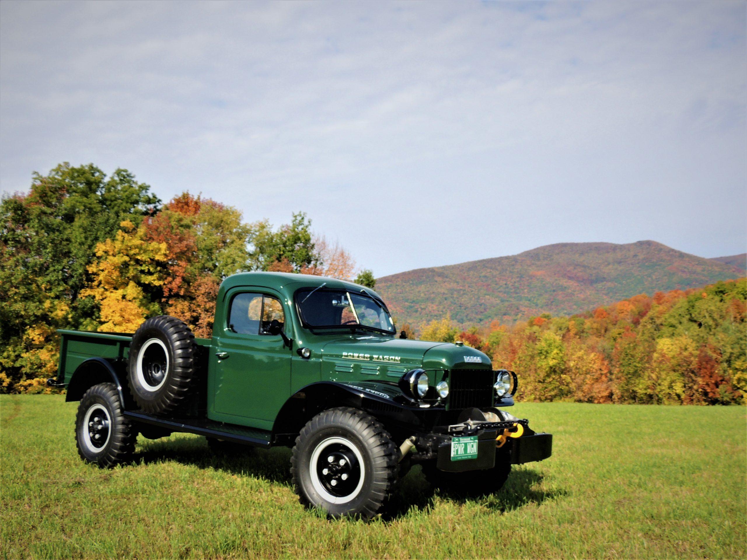 1956 Dodge Power Wagon front three-quarter