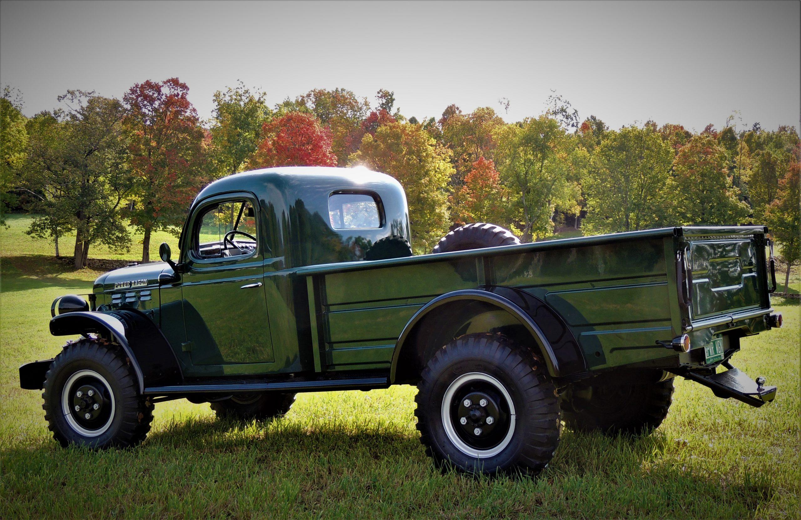 1956 Dodge Power Wagon rear three-quarter