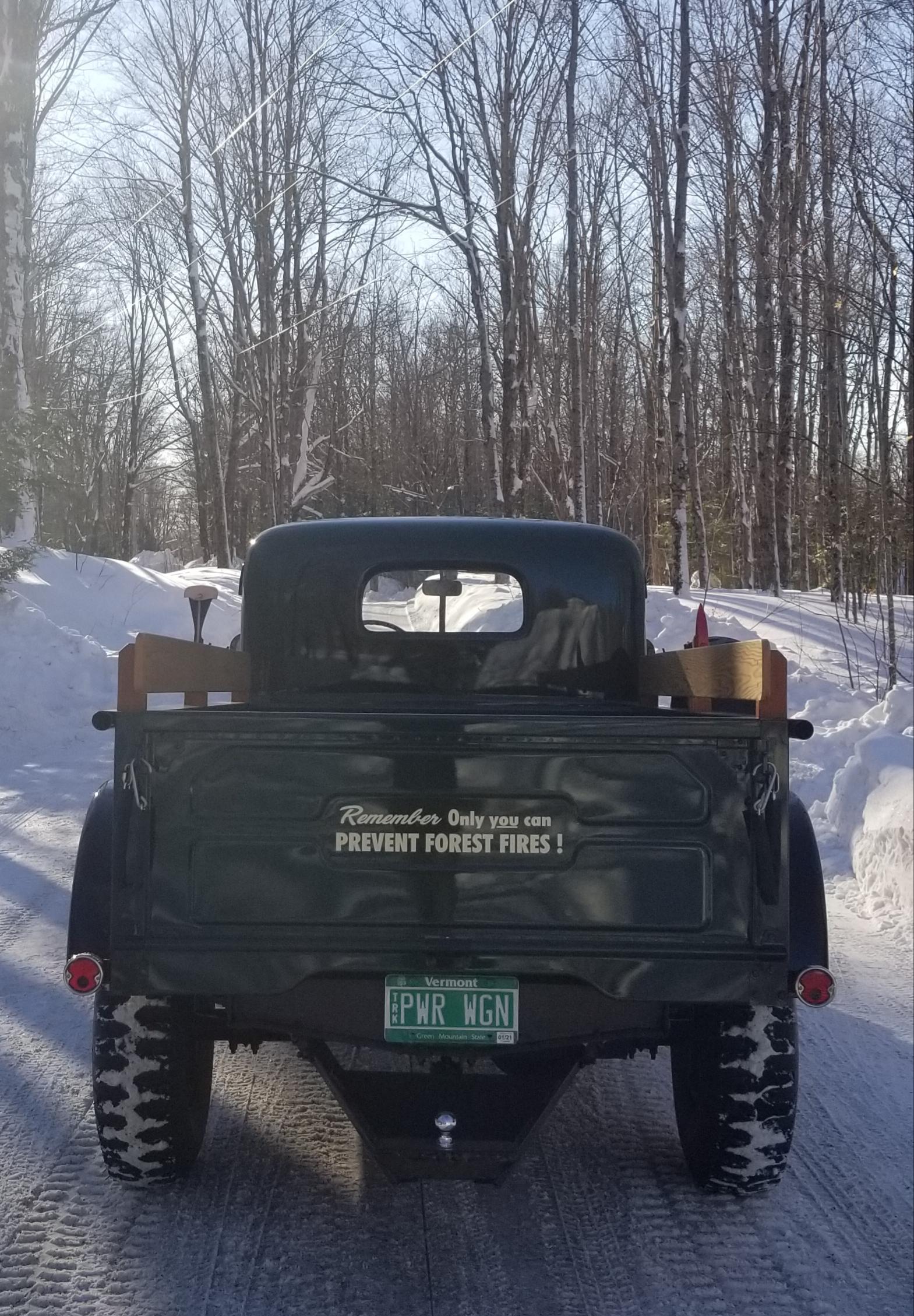 1956 Dodge Power Wagon rear