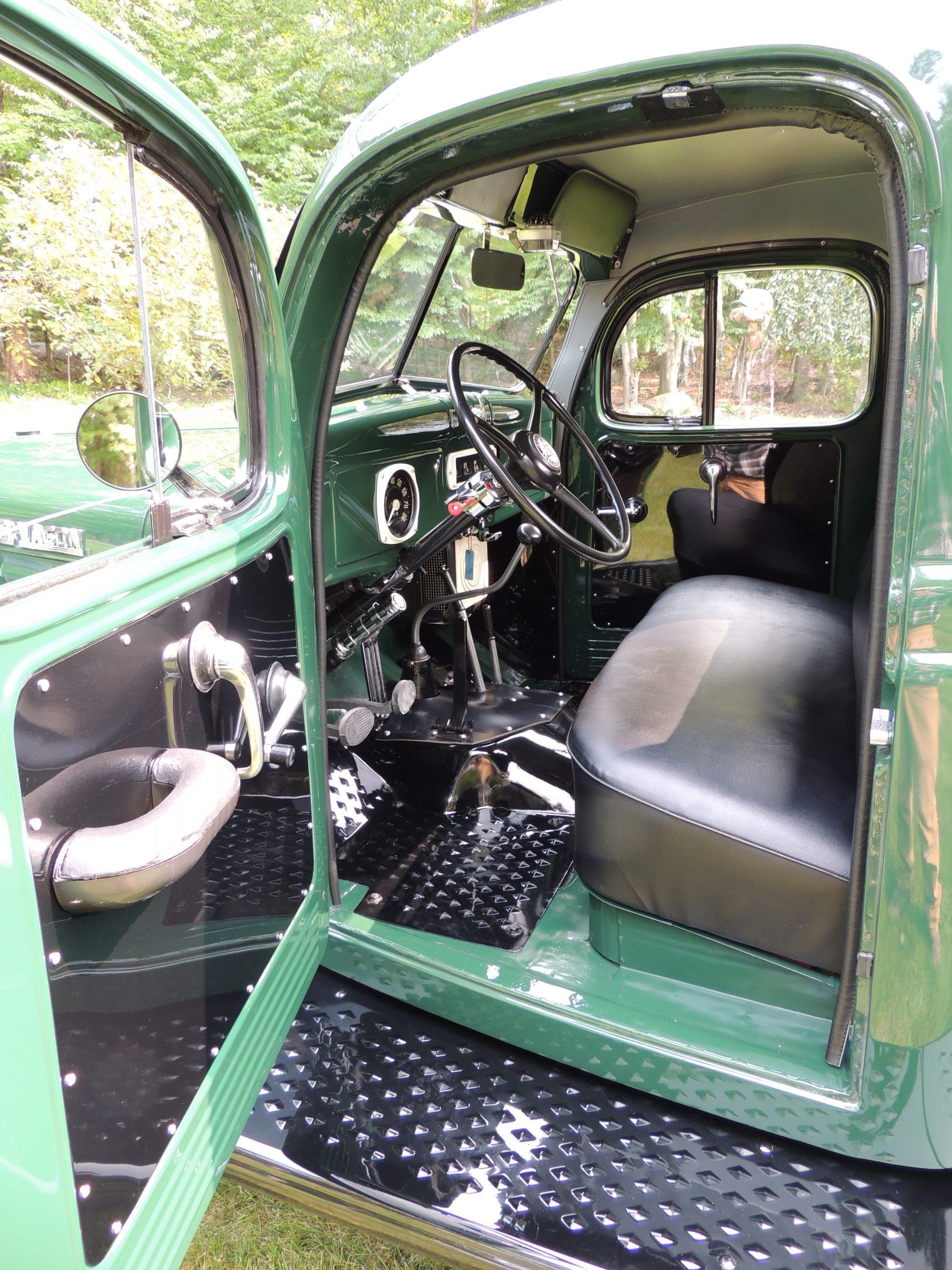 1956 Dodge Power Wagon interior